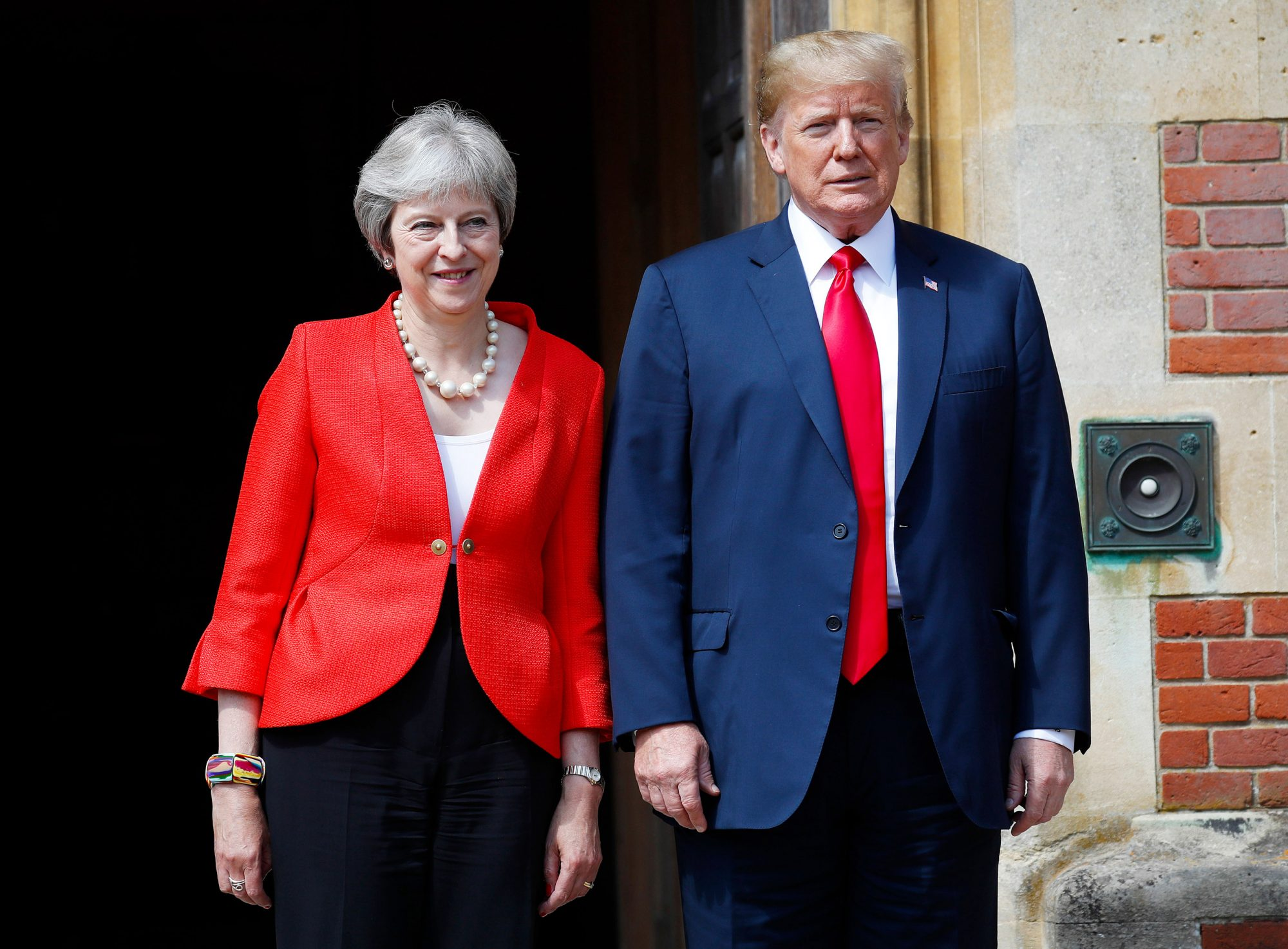 Trump, Buckinghamshire, United Kingdom - 13 Jul 2018