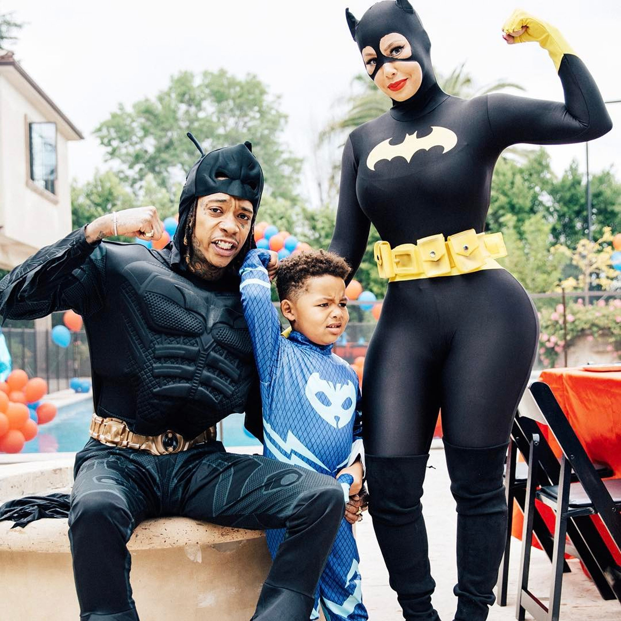SEBASTIAN TAYLOR'S SUPERHERO-THEMED BIRTHDAY