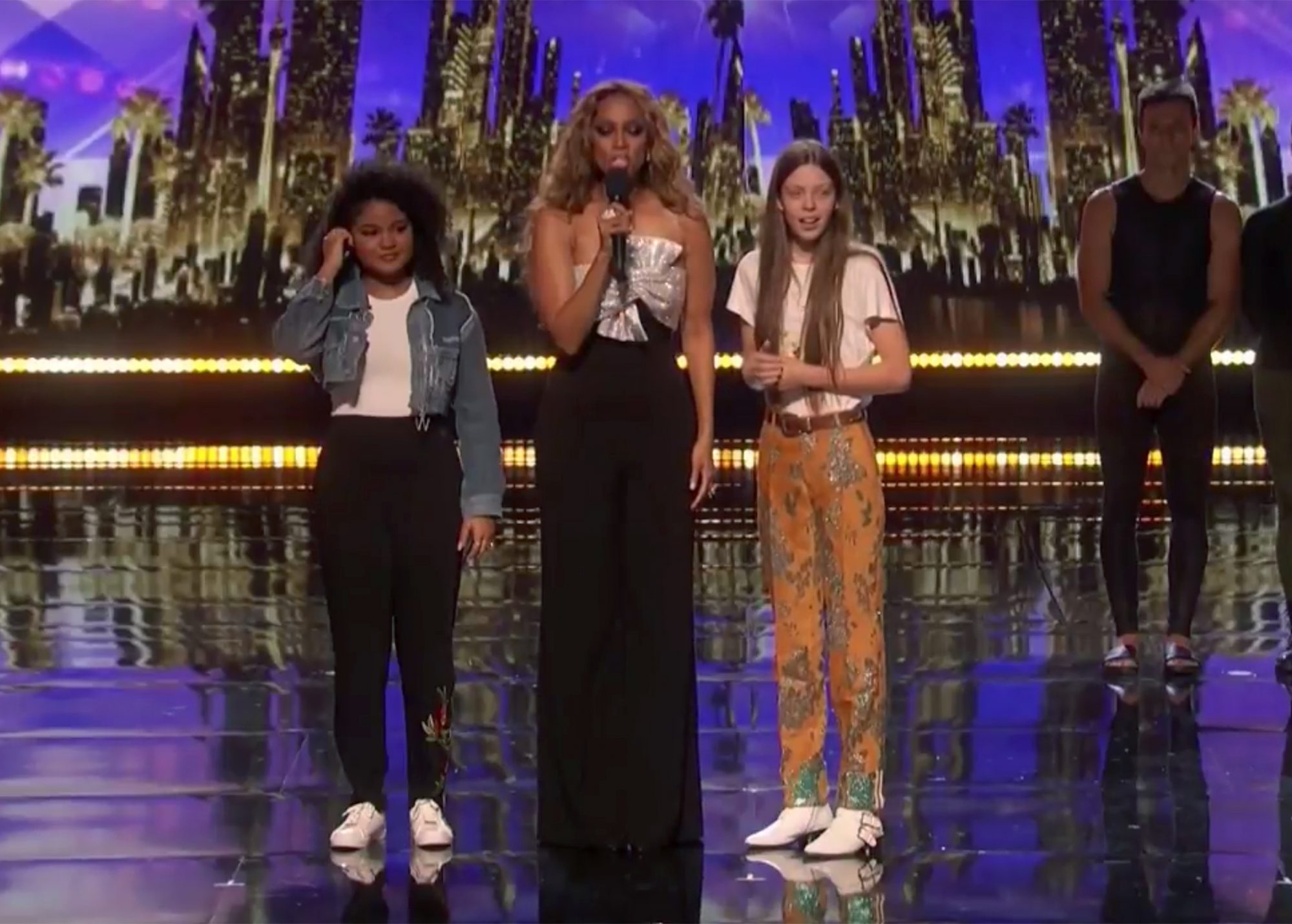 courtney hadwin and amanda mena America's Got TalentCredit: NBC