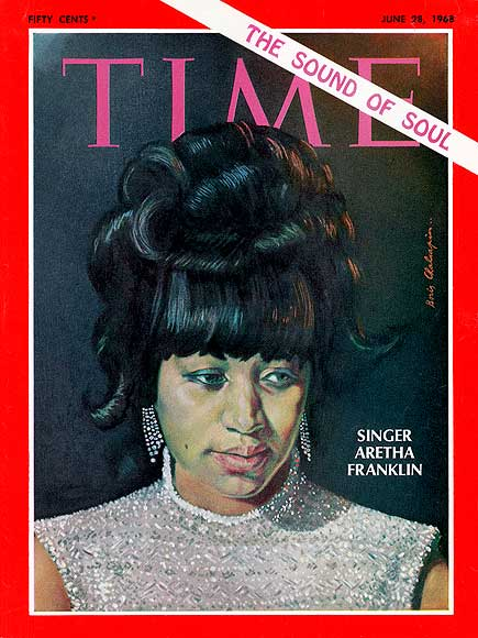 Time cover aretha franklin