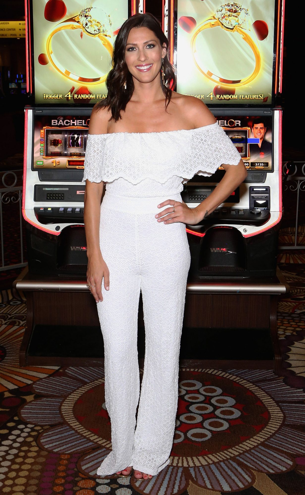 """The Bachelor"" Slot Machine Unveiling At MGM Grand In Las Vegas"