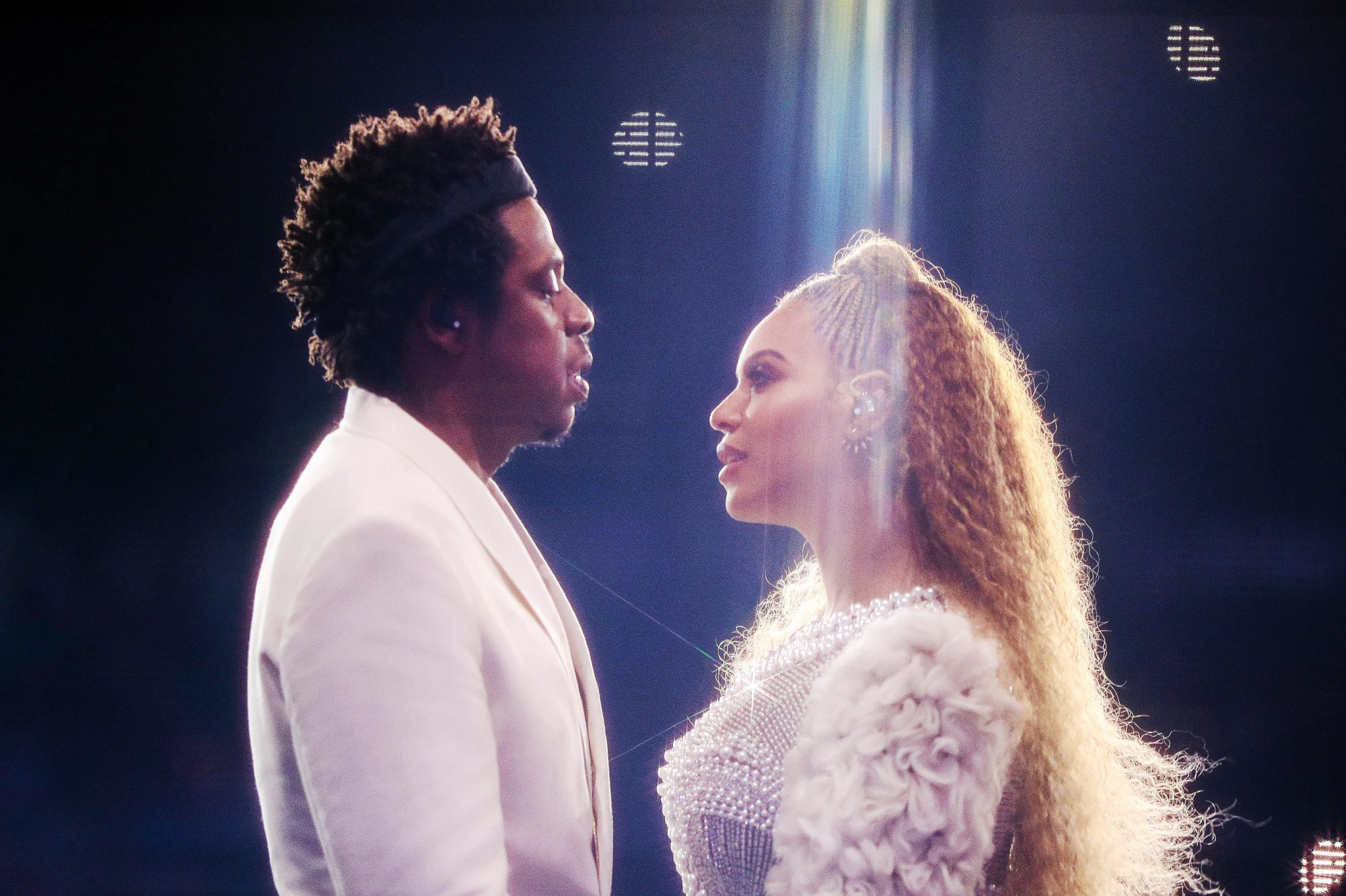 Beyonce and Jay-Z in concert, 'On The Run II Tour', Minneapolis, USA - 08 Aug 2018