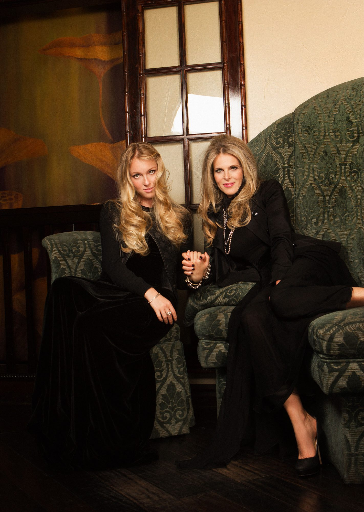 Catherine Oxenberg and daughter India, 2016Credit: Tracey Morris