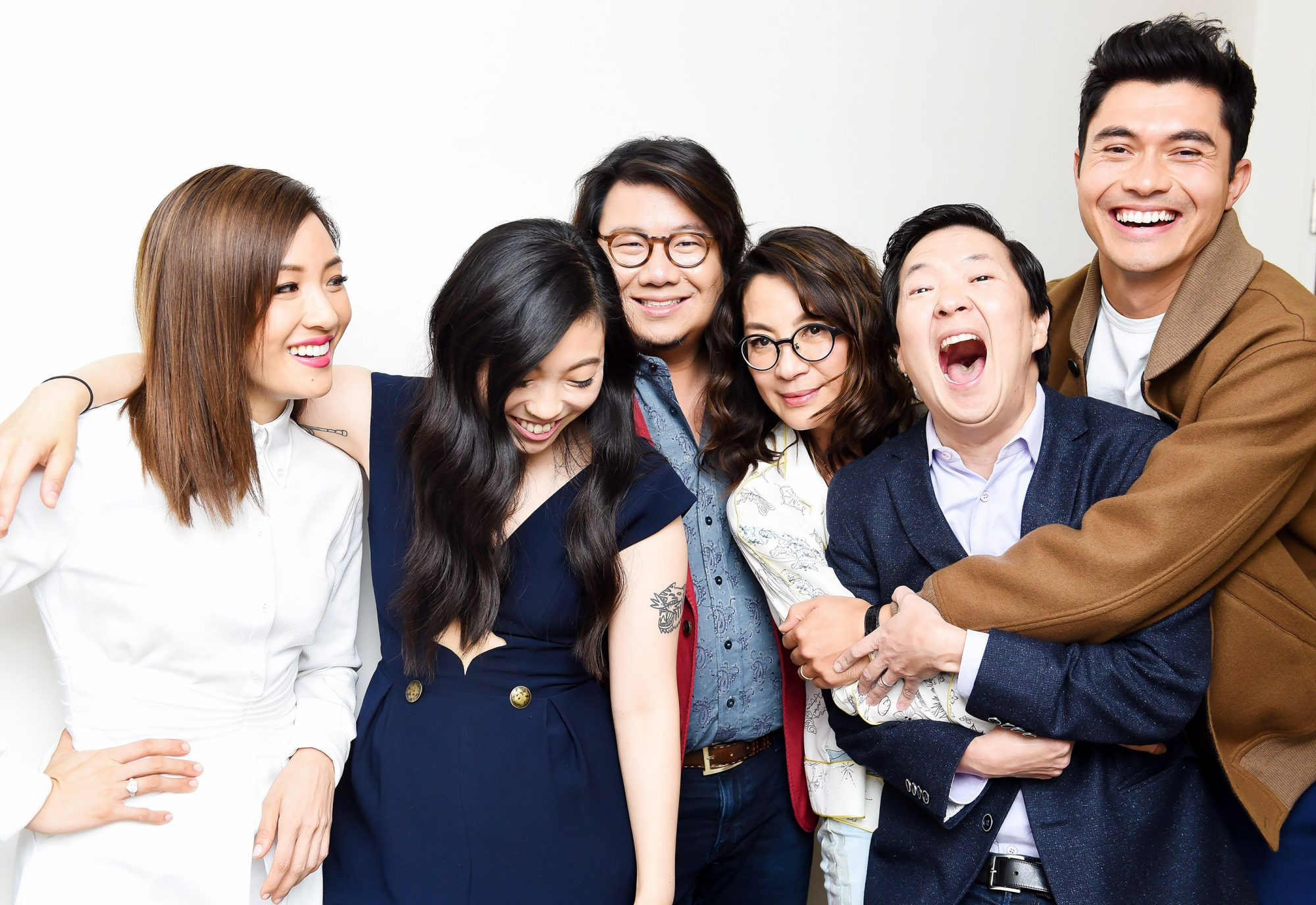 TimesTalks with 'Crazy Rich Asians', New York, USA - 14 Aug 2018