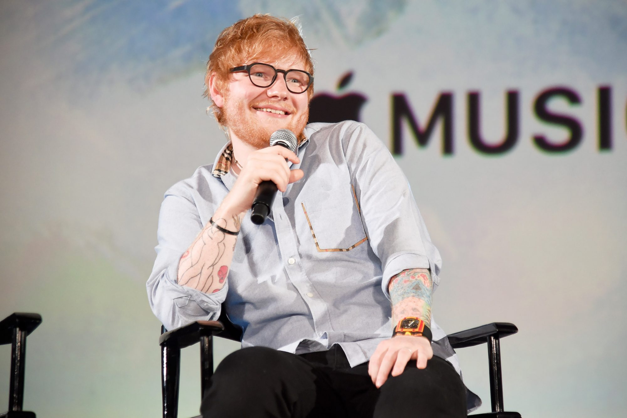 """Apple Music Presents """"Songwriter"""" With Ed Sheeran In Los Angeles"""