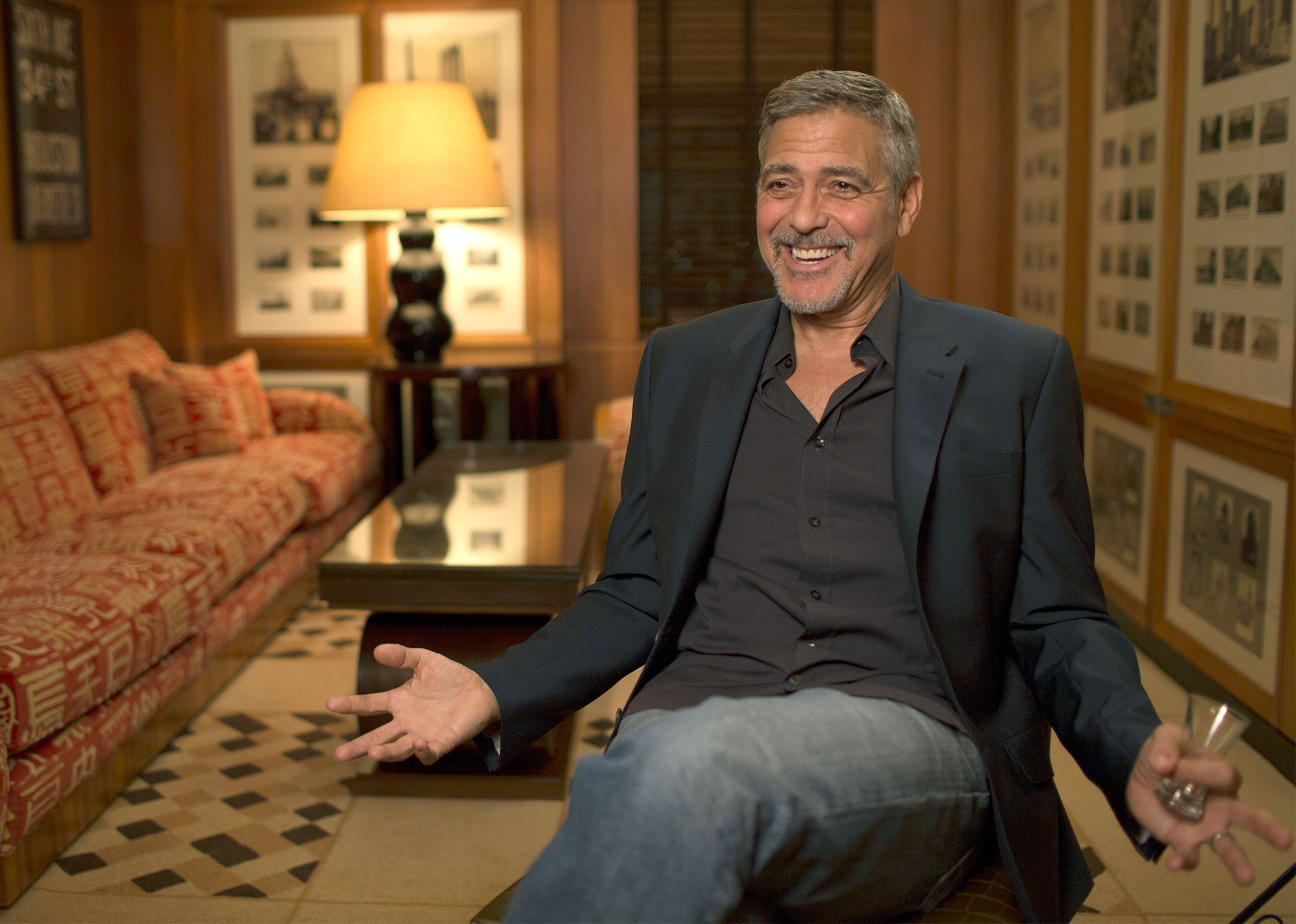 promo shots for the always at the Carlyle documentary