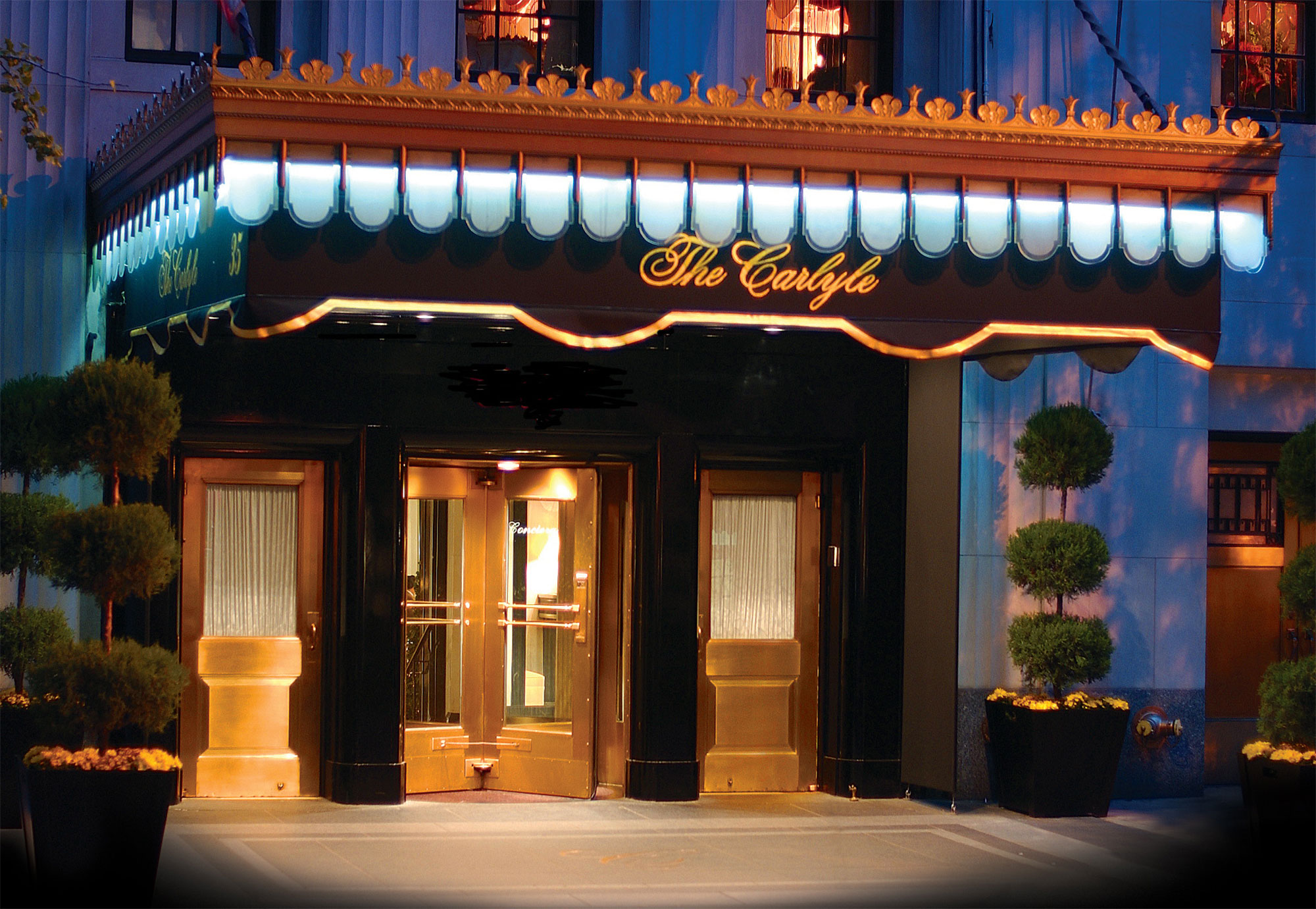 the hotel Carlyle New York hotel press images