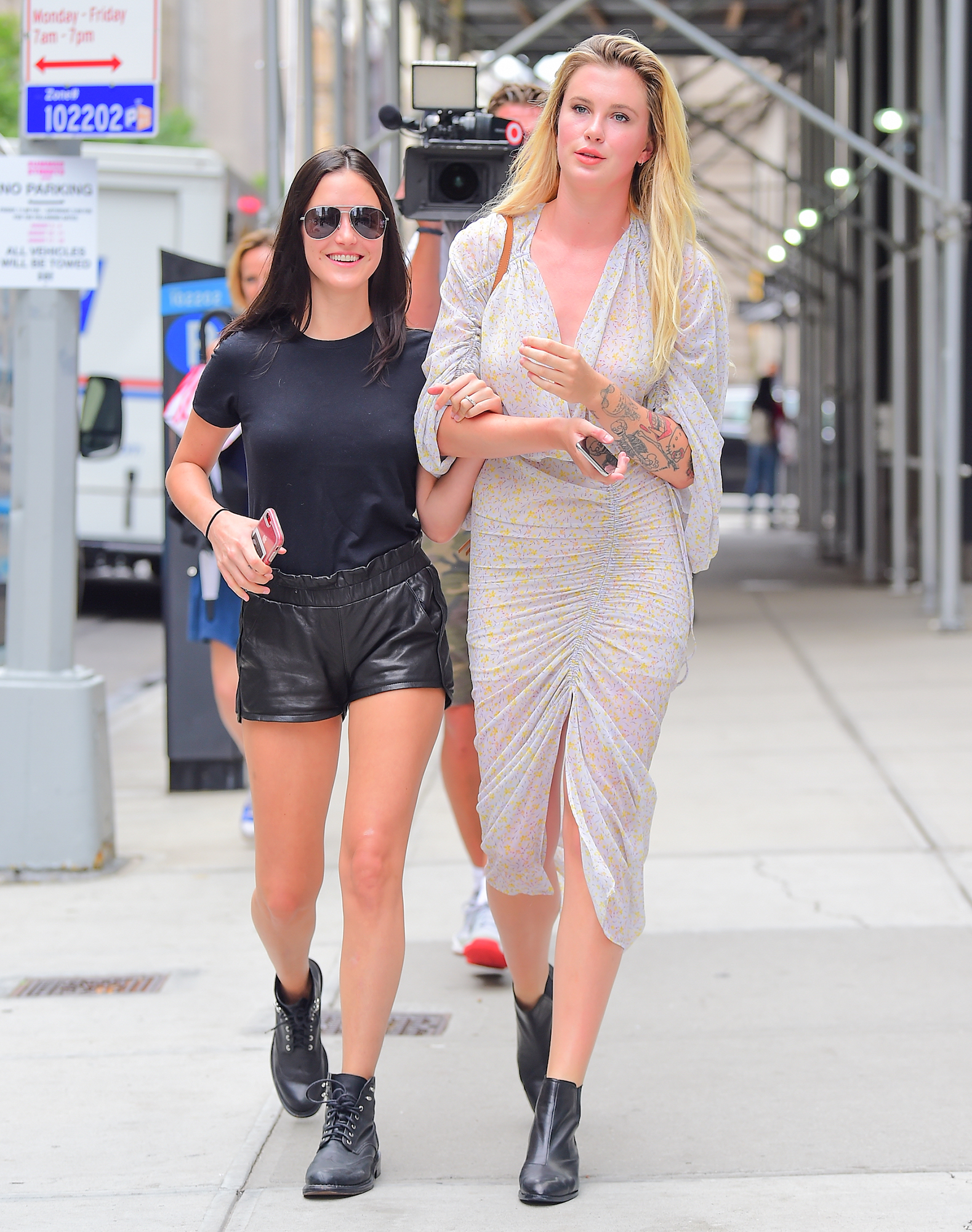 EXCLUSIVE: Keeping Up With The Baldwins Ireland And Alaia Baldwin Spotted Filming New TV Show In NYC