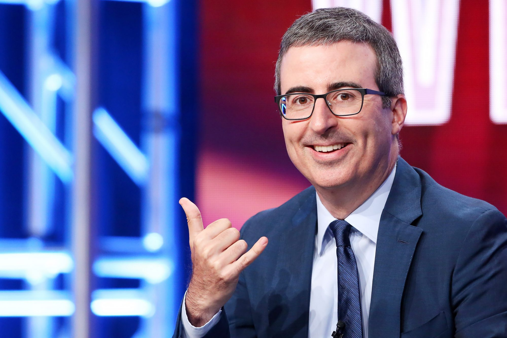 HBO 'Last Week Tonight with John Oliver' TV show panel, TCA Summer Press Tour, Los Angeles, USA - 25 Jul 2018