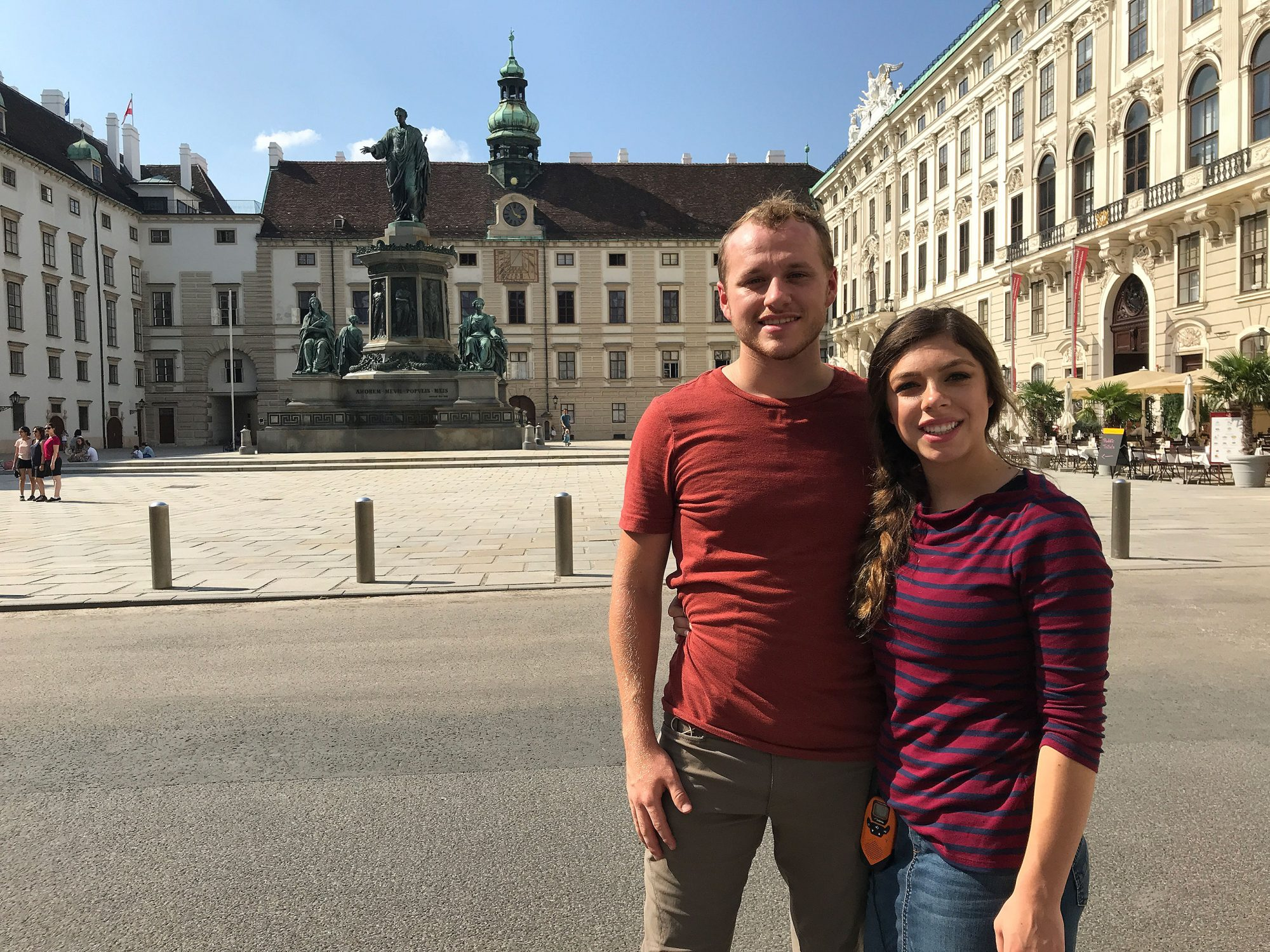 Josiah Duggar and Lauren Swanson Honeymoon in ViennaTLC/duggarfamily.com)
