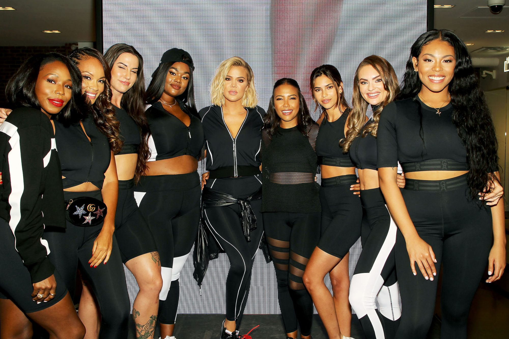 Good American and SIX:02 Launch Performance Line with Co-Founders Emma Grede and Khloe Kardashian in New York City, USA - 02 Aug 2018