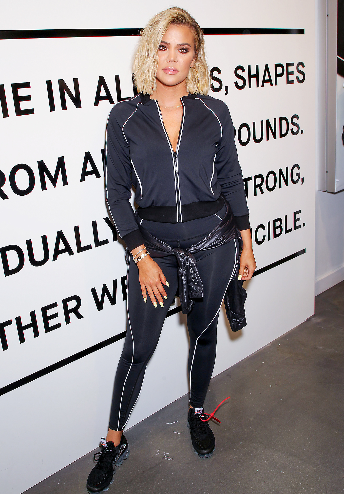 Exclusive - Good American and SIX:02 Launch Performance Line with Co-Founders Emma Grede and Khloe Kardashian in New York City, USA - 02 Aug 2018