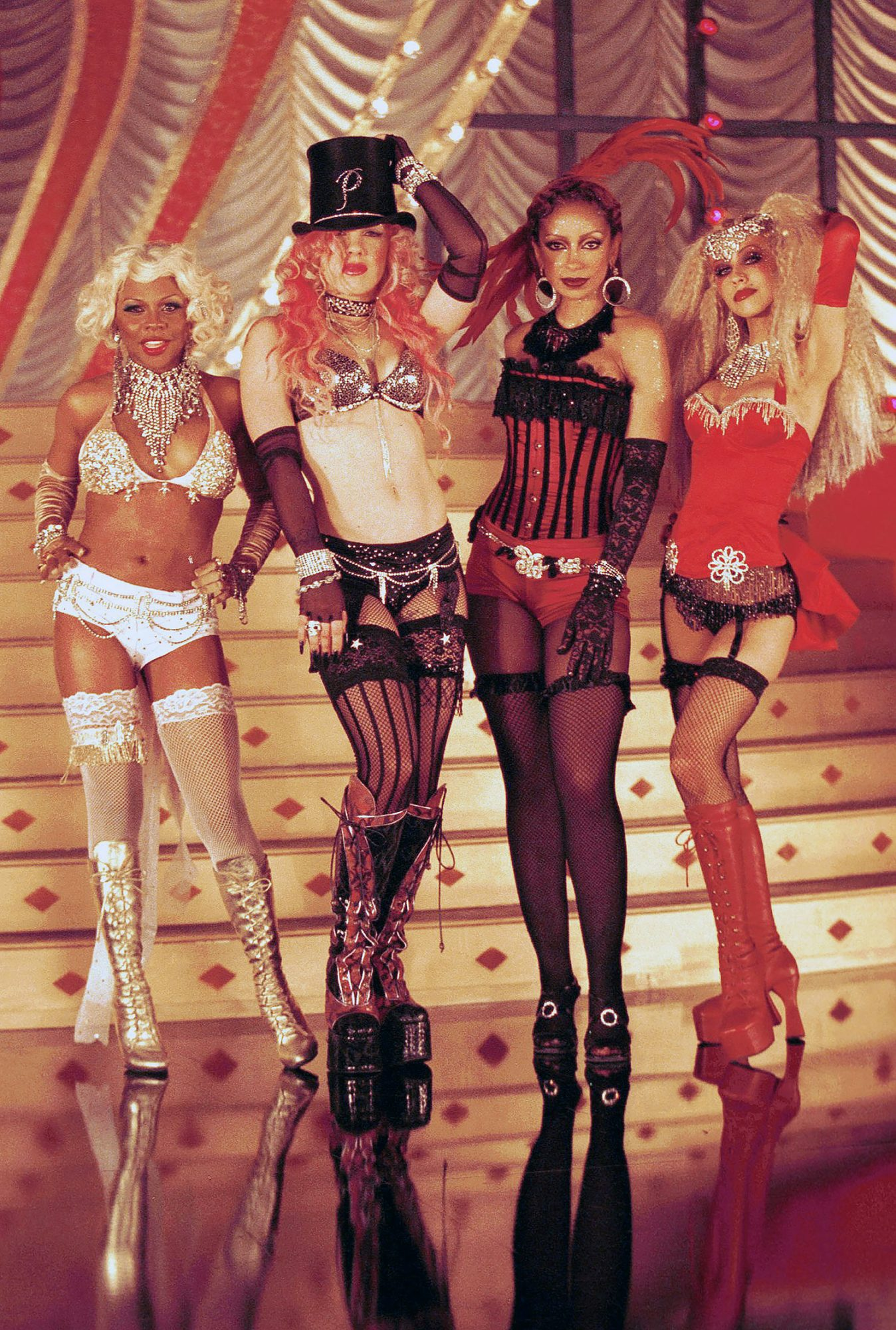 Lady Marmalade Video Shoot