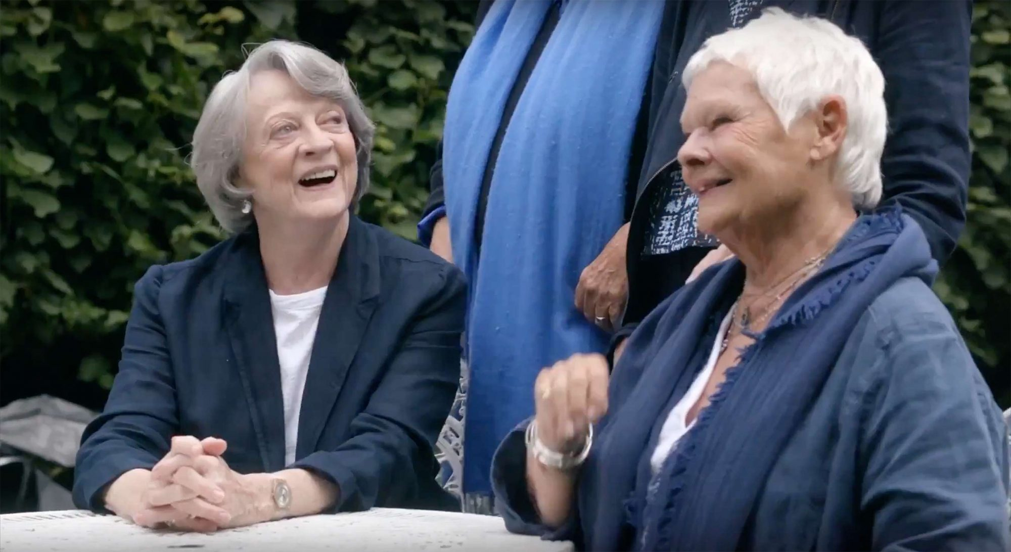 Maggie Smith and Judi Denchhttps://www.youtube.com/watch?v=BrzZ_v8C8O0
