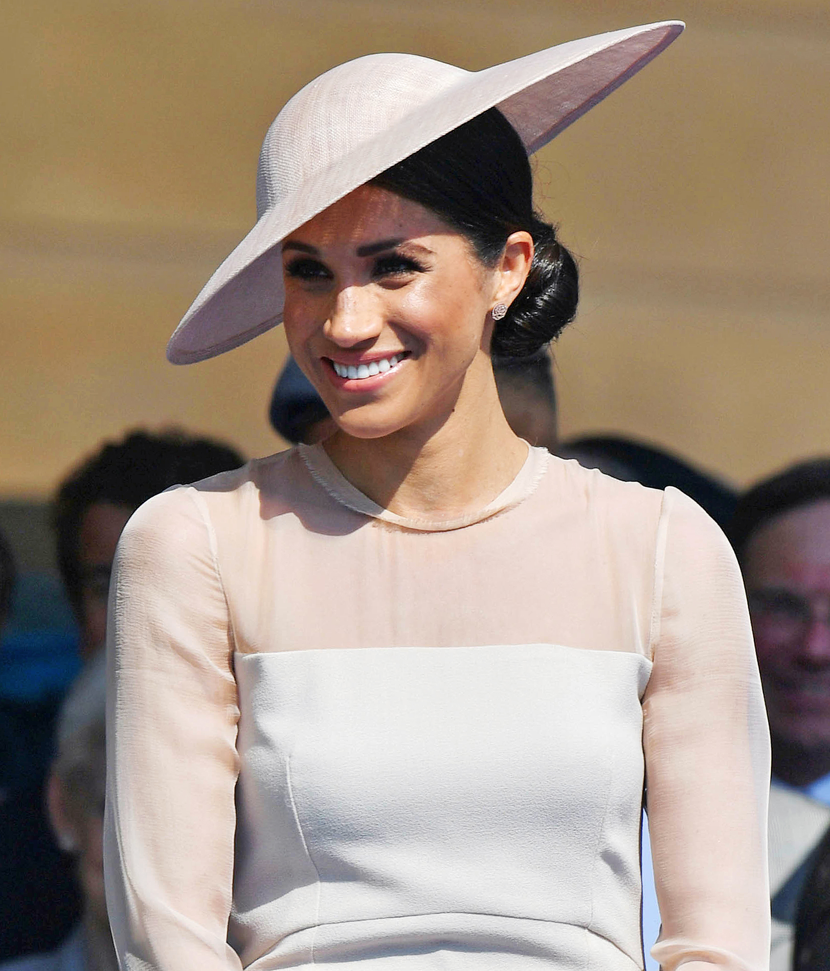 Prince Harry and Meghan Duchess of Sussex Attend Buckingham Palace Garden Party