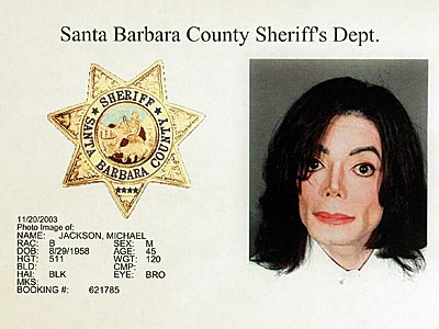 AN ECCENTRIC STAR:  THE MUGSHOT