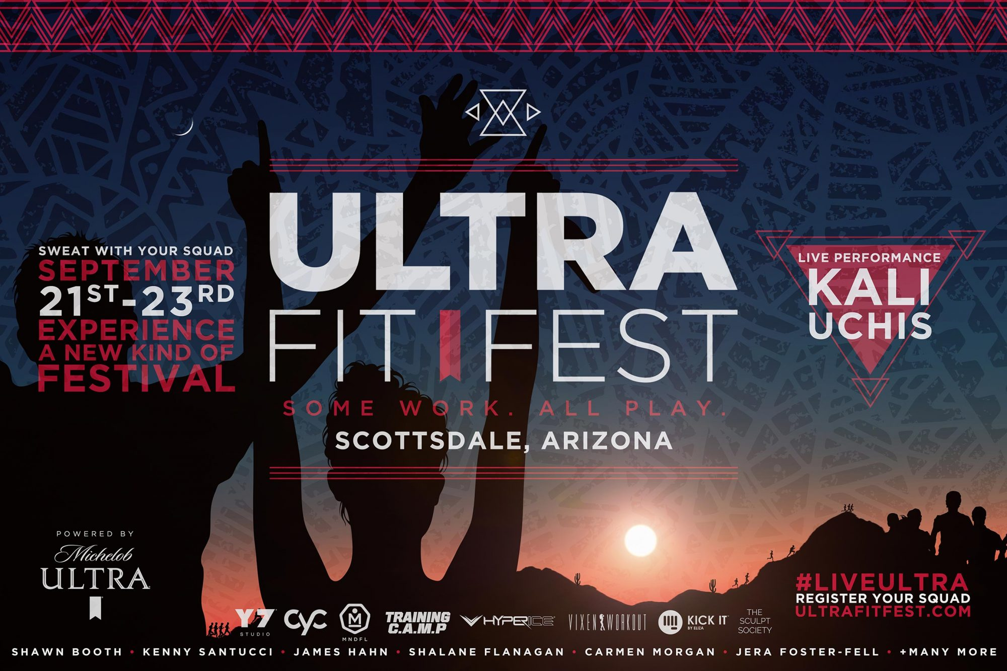Ultra Fit Fest Poster CR: Michelob ULTRA
