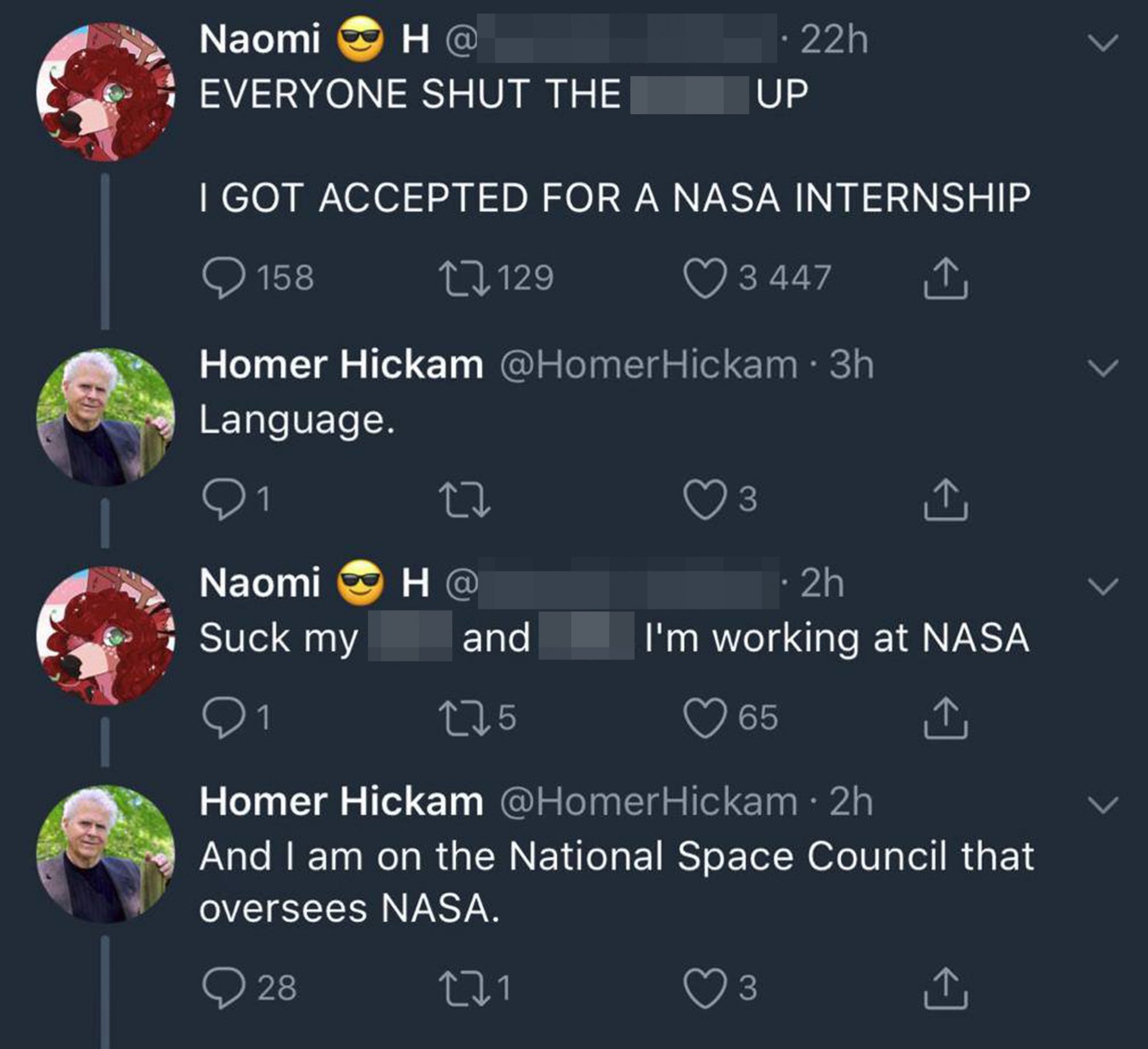 Nasa internshipCredit: Twitter