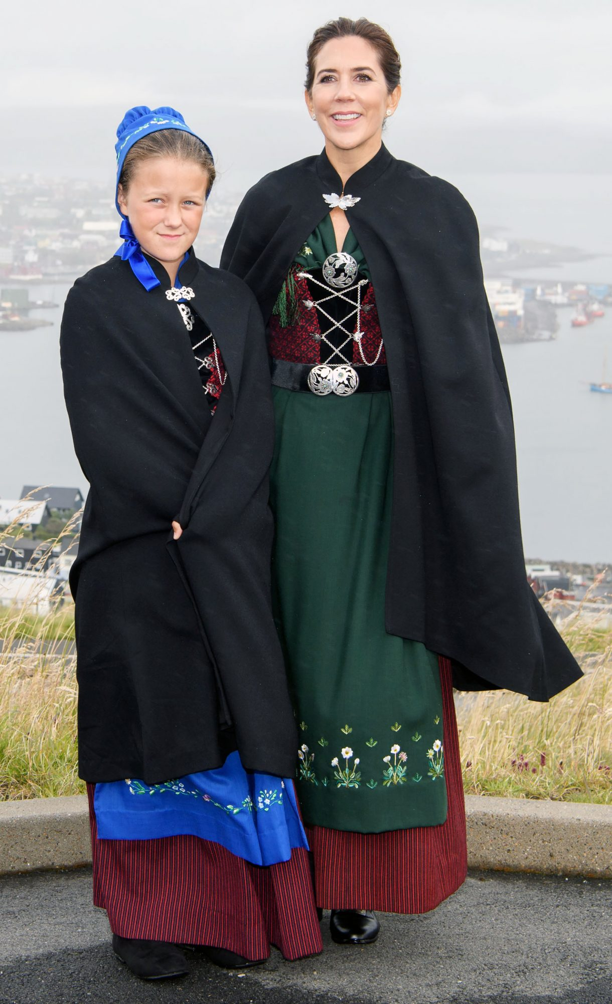 Danish Royals visit to the Faroe Islands, Denmark - 23 Aug 2018