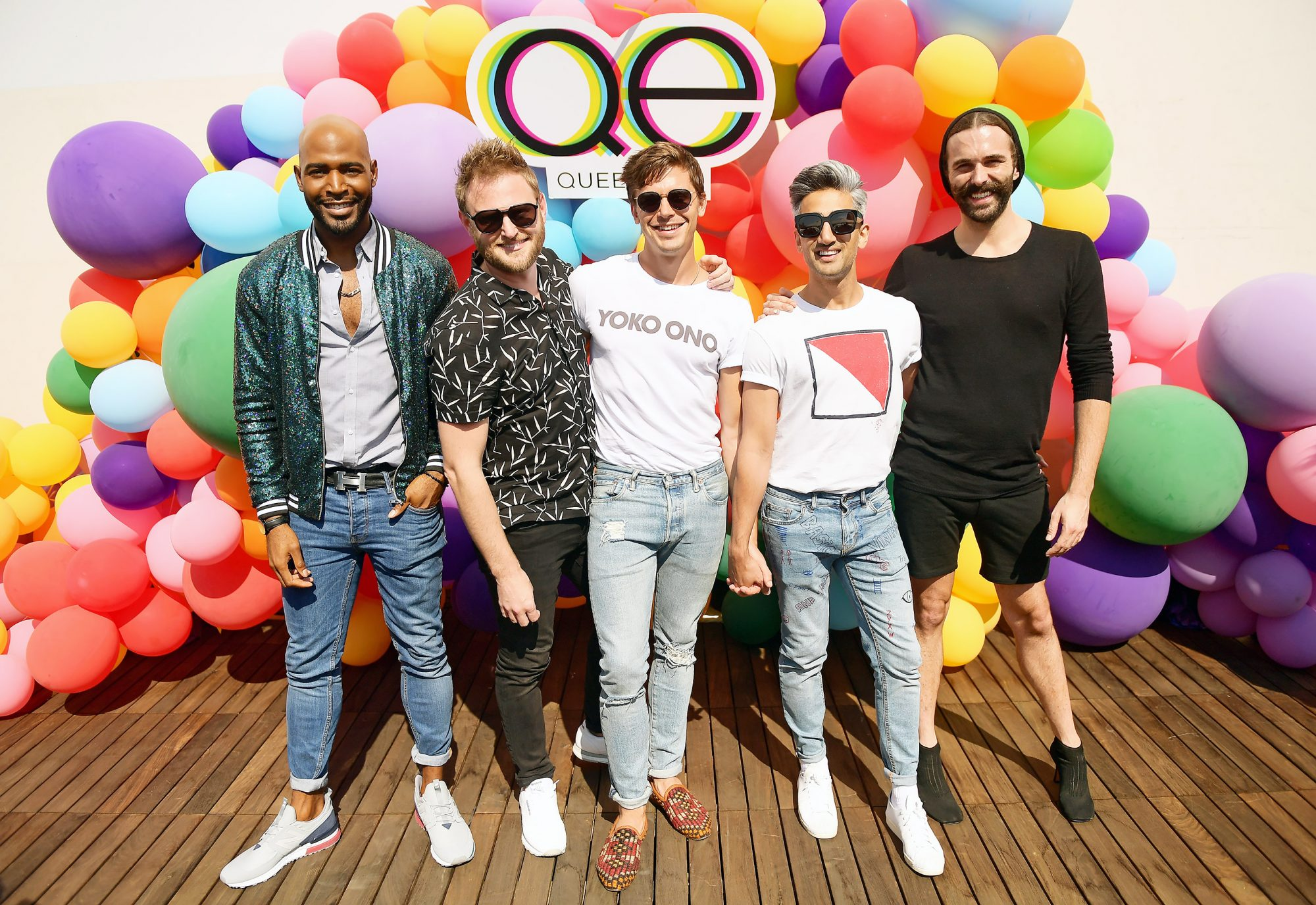 Netflix's Queer Eye And GLSEN Event At NueuHouse Hollywood