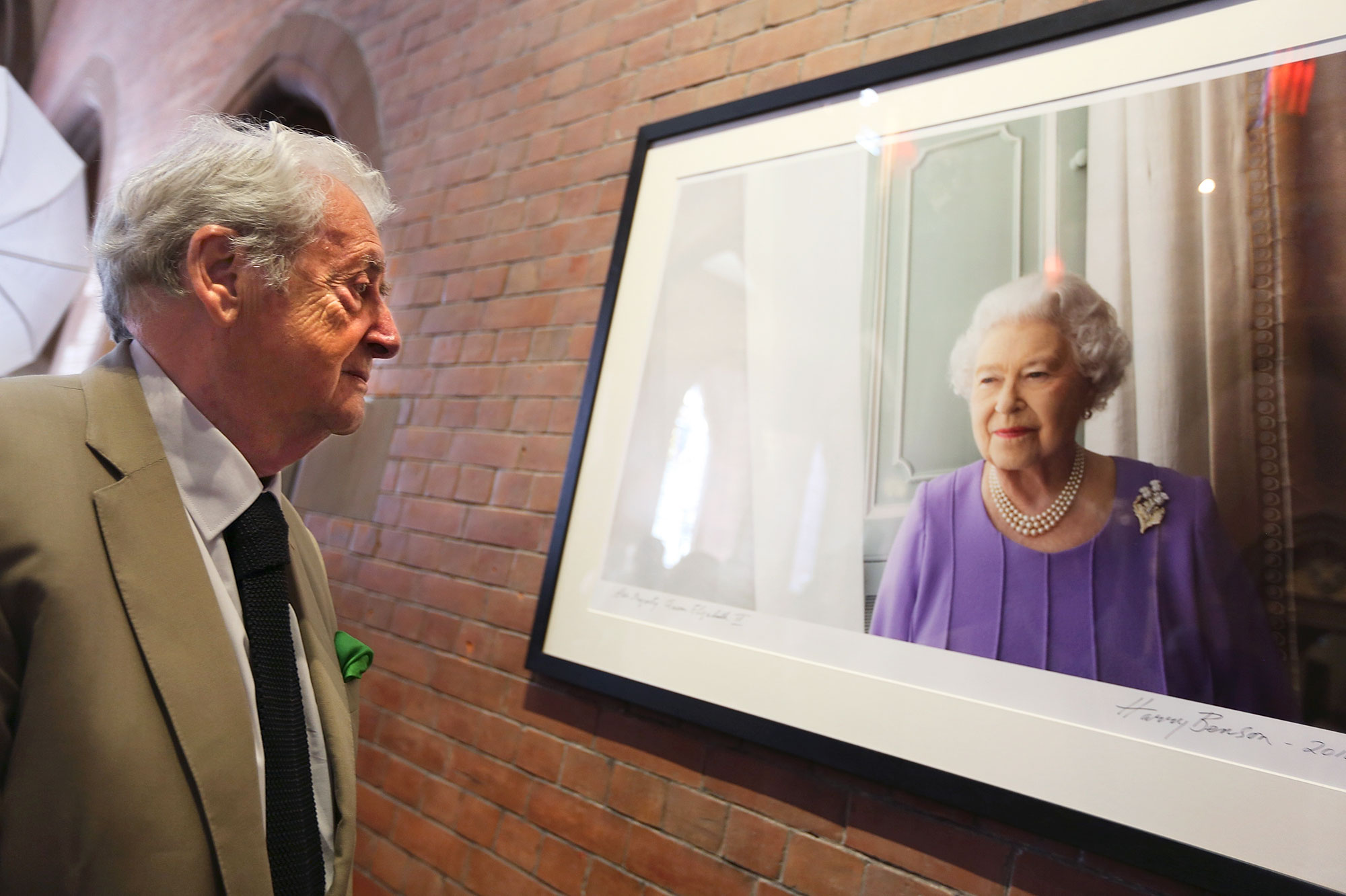 New Portrait Of The Queen Unveiled At The Scottish National Portrait Gallery