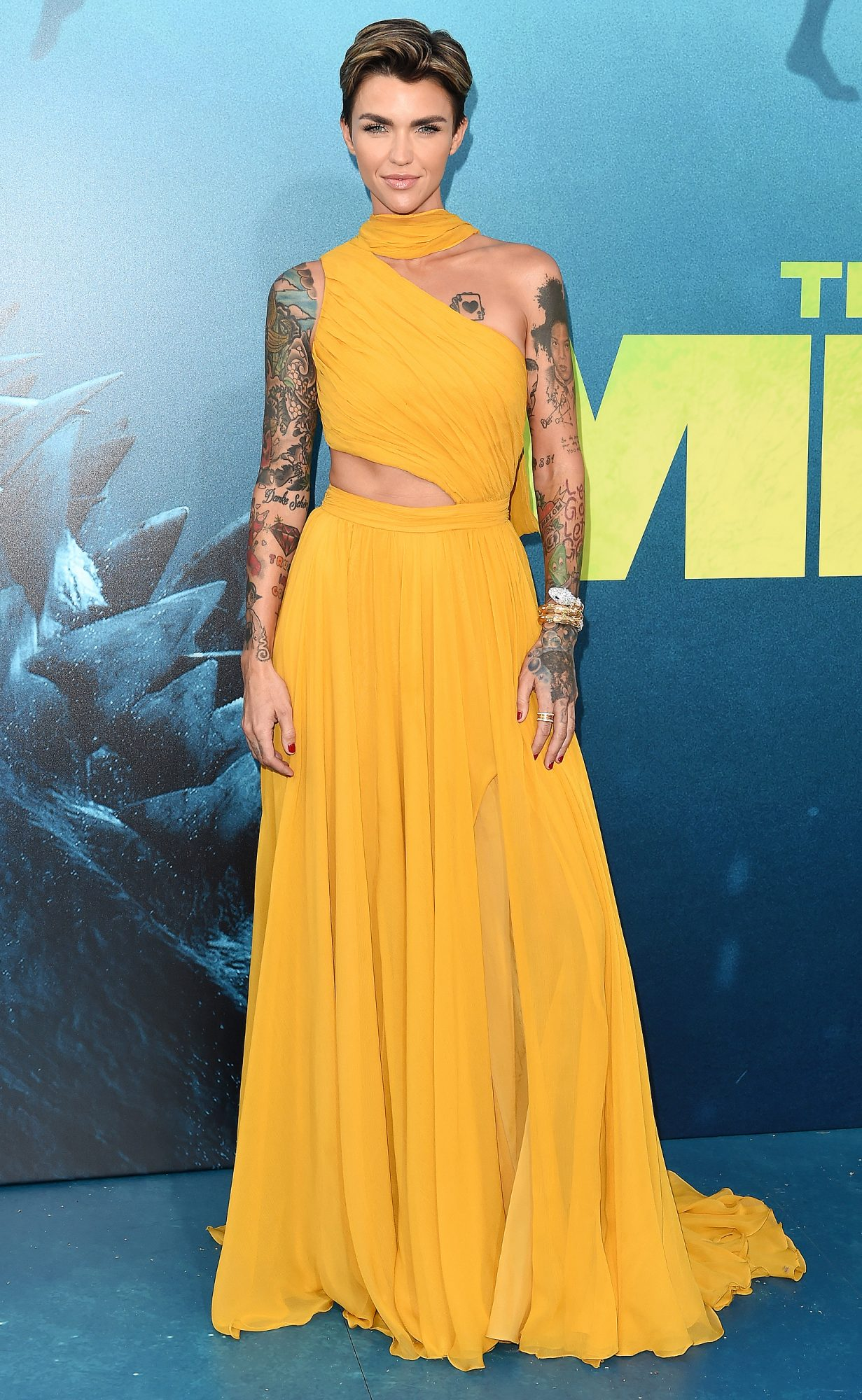 "Warner Bros. Pictures And Gravity Pictures' Premiere Of ""The Meg"" - Arrivals"