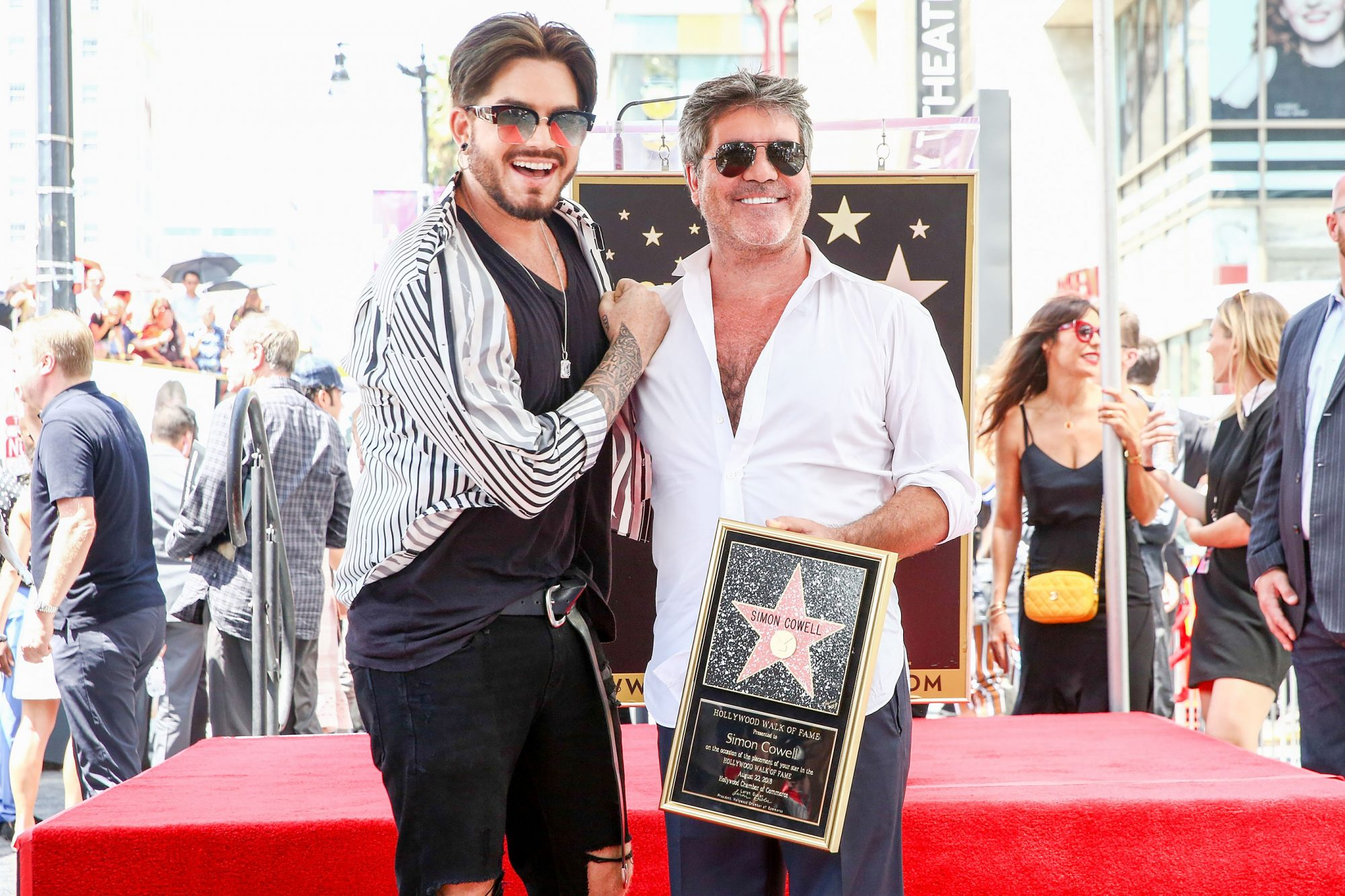 Simon Cowell Honored With Star On The Hollywood Walk Of Fame