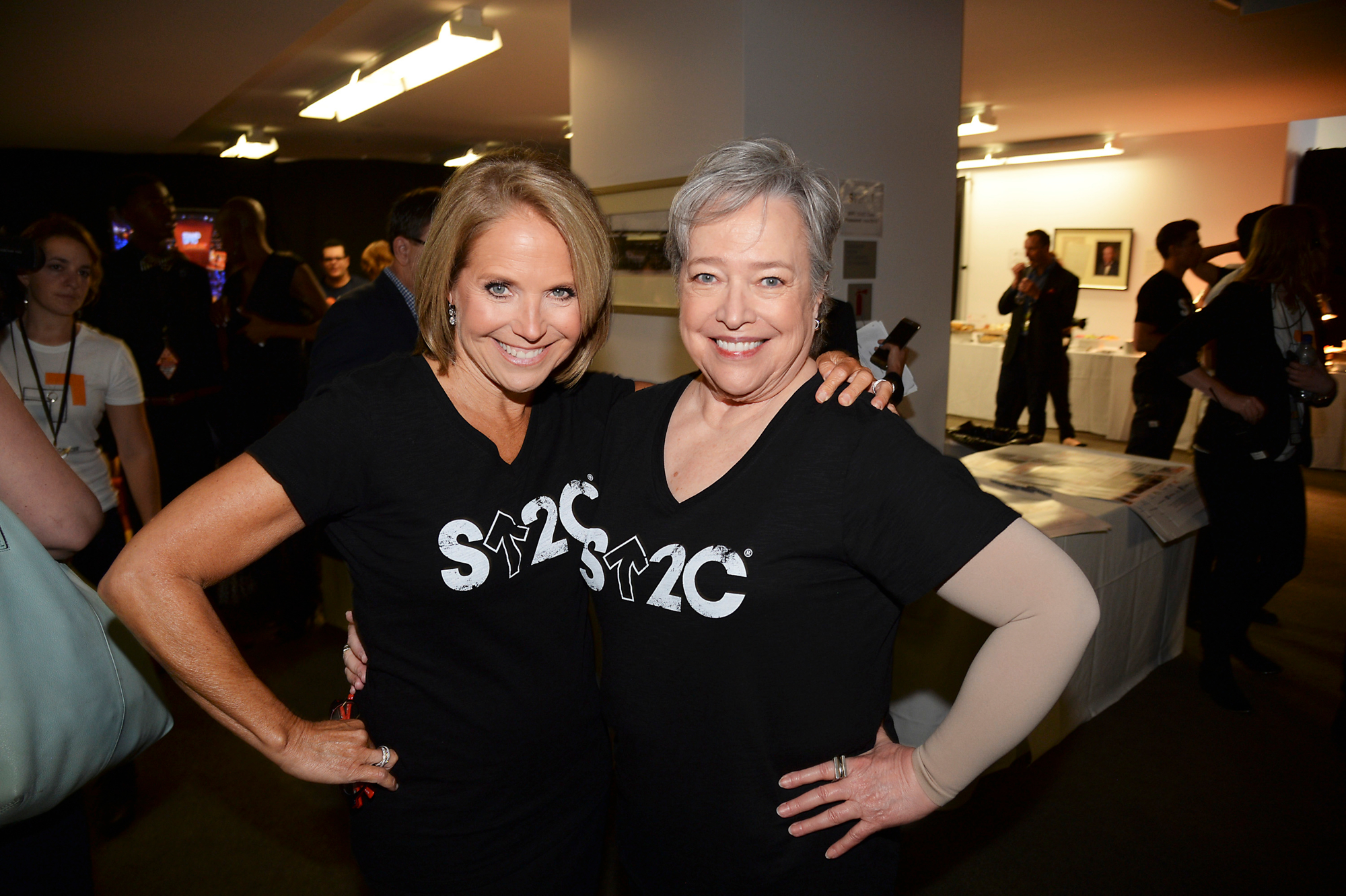 KATIE COURIC, KATHY BATES