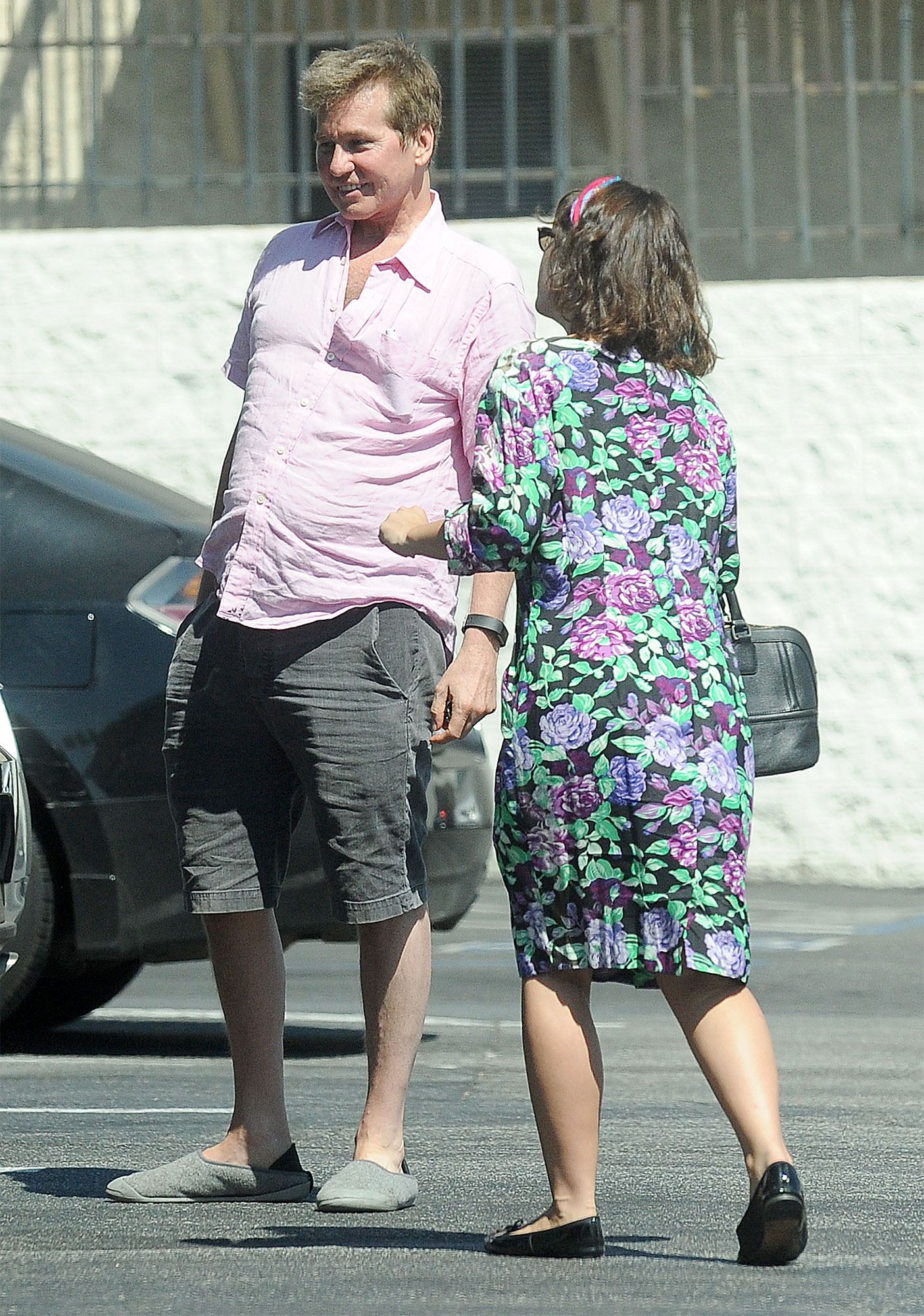 Actor Val Kilmer enjoys time with his daughter Mercedes