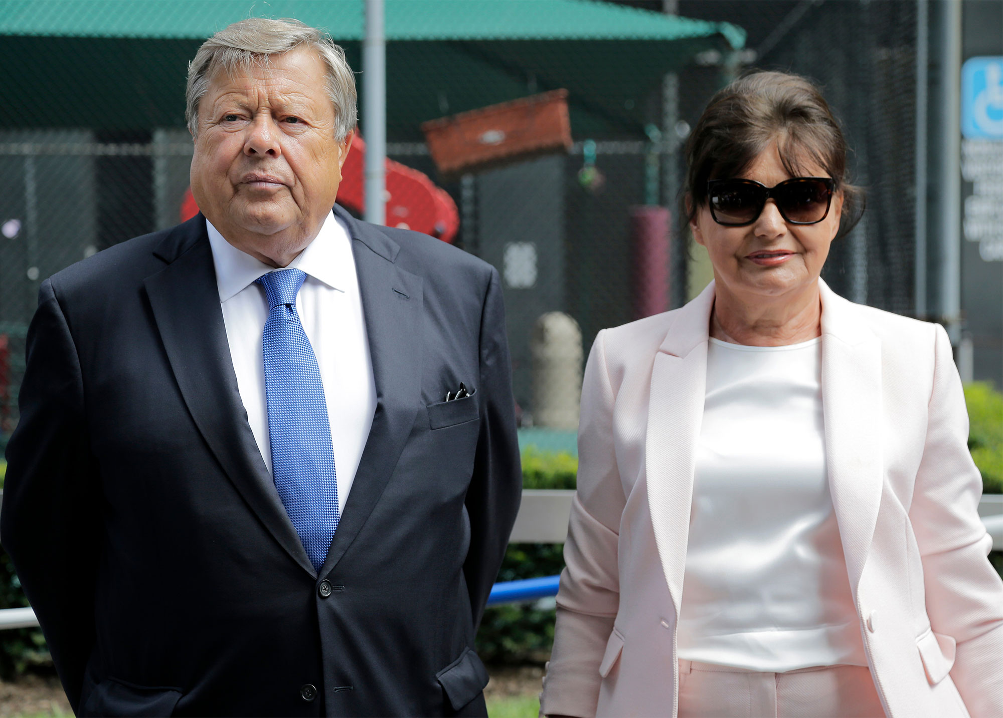 Melania Trump Parents, New York, USA - 09 Aug 2018