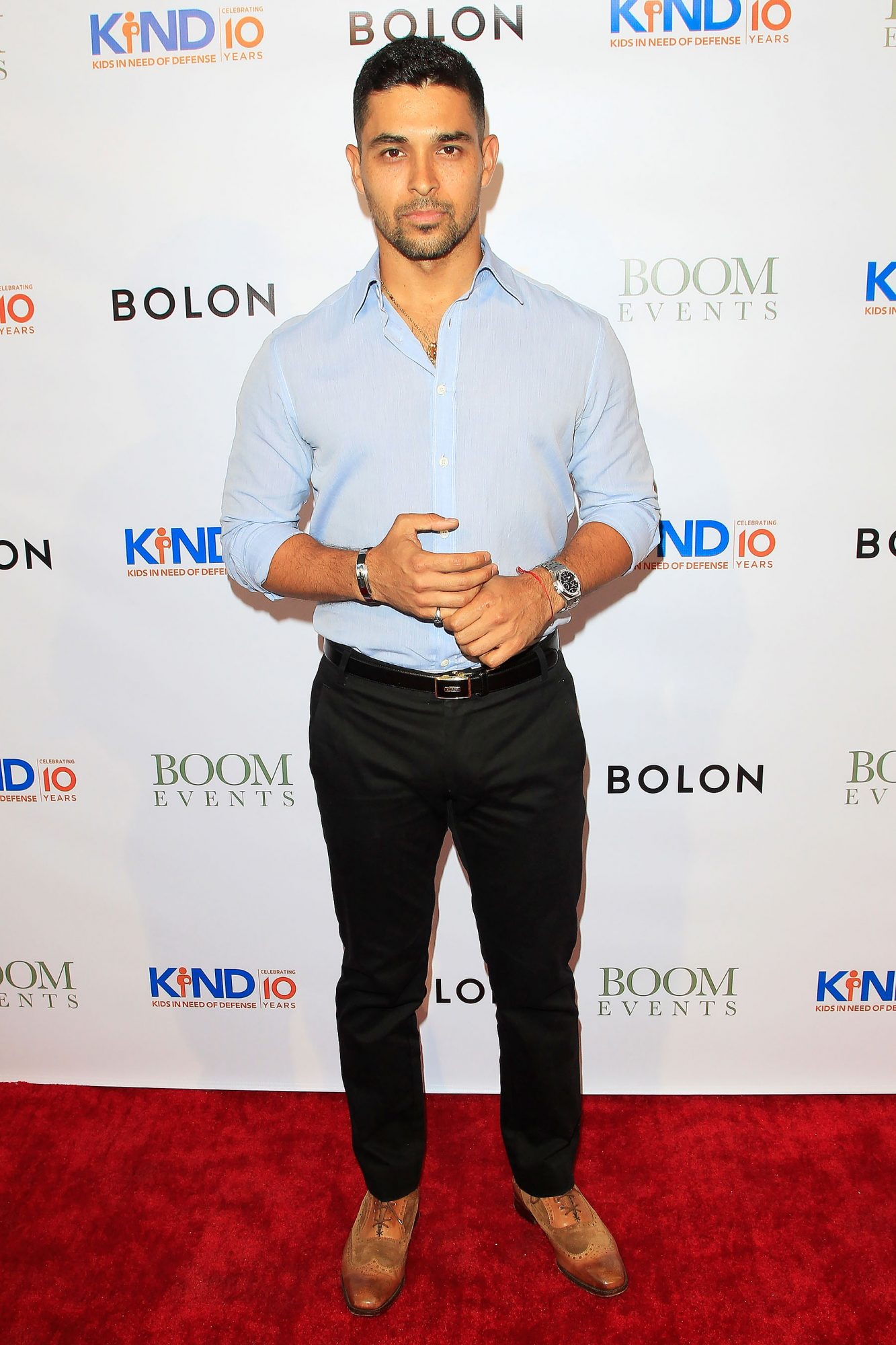 Wilmer Valderrama Attends The Kind Los Angeles Coming Together for Children Alone Event In Culver City