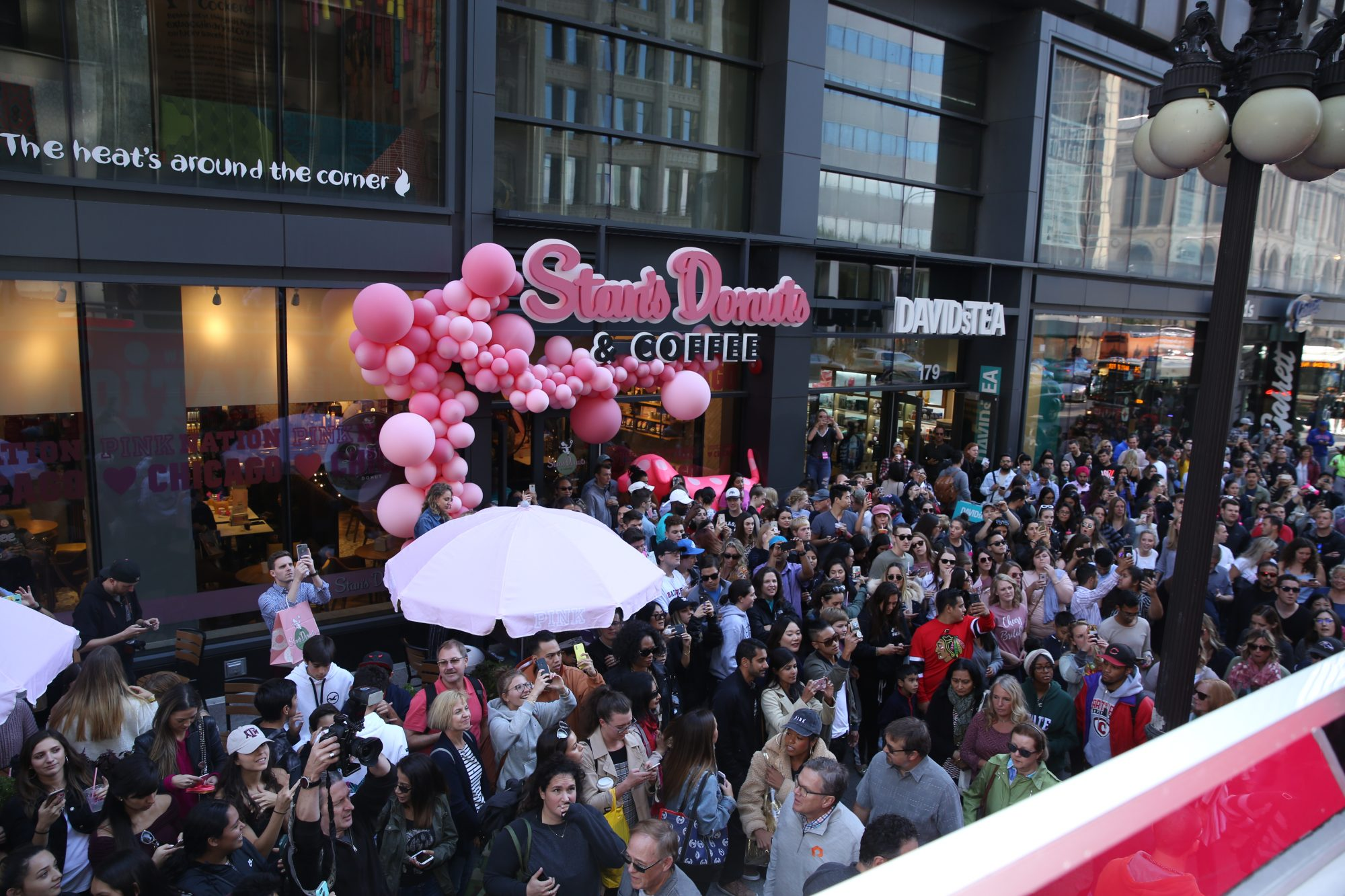 Victoria's Secret PINK And Marshmello Team Up For 'PINK Loves Chicago' Event