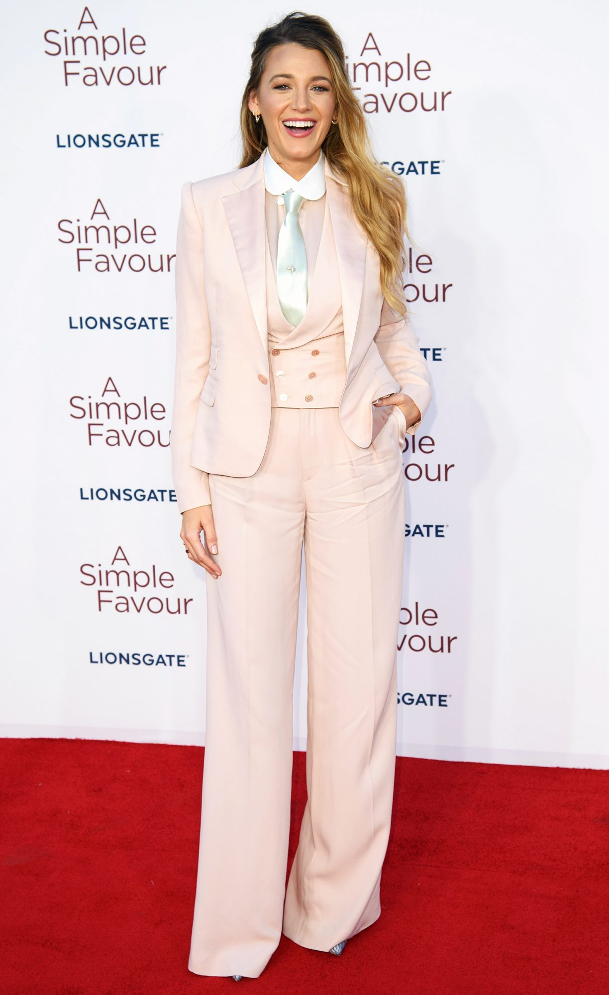 'A Simple Favour' film premiere, London, UK - 17 Sep 2018