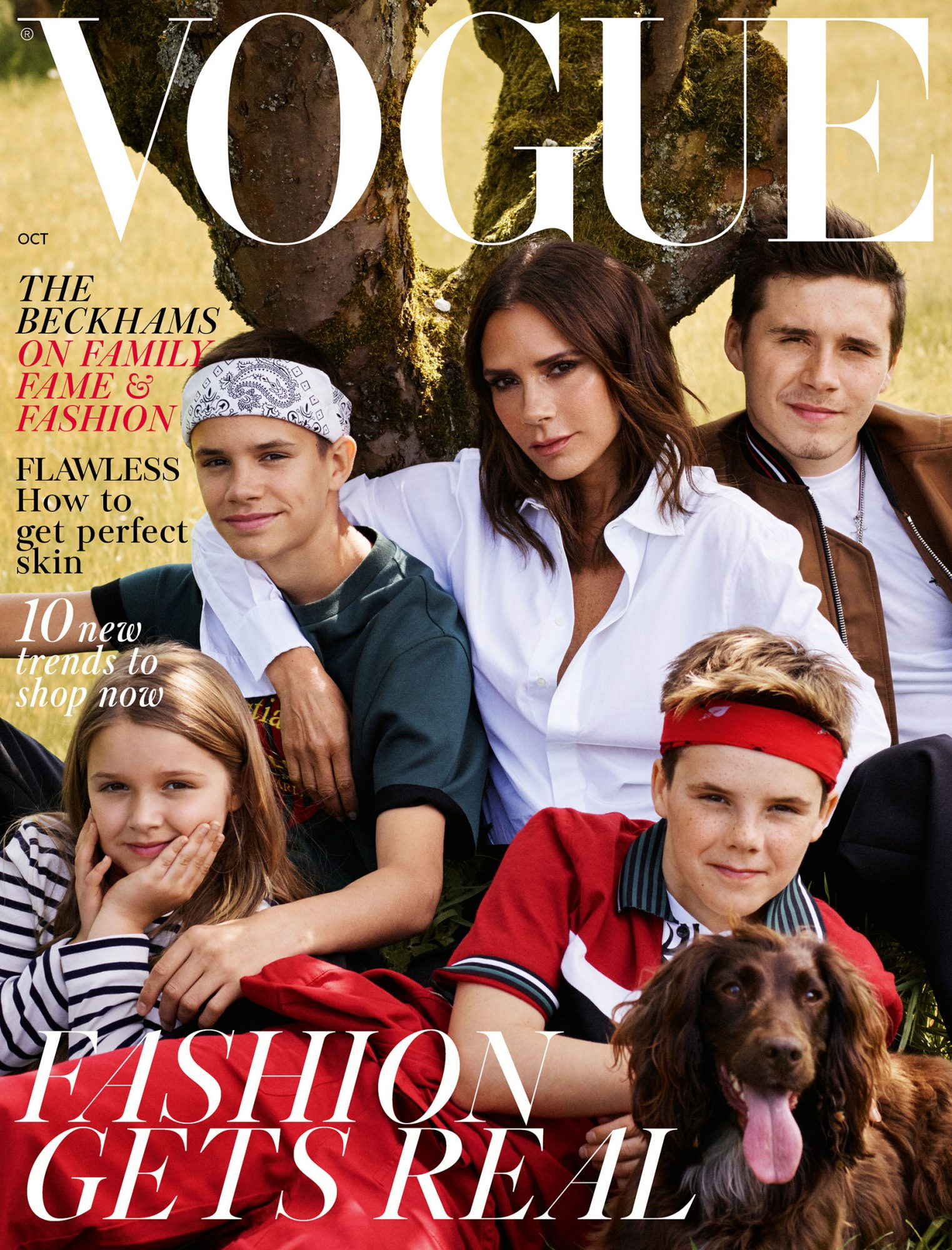 British Vogue OCTOBER Cover HIGH RES