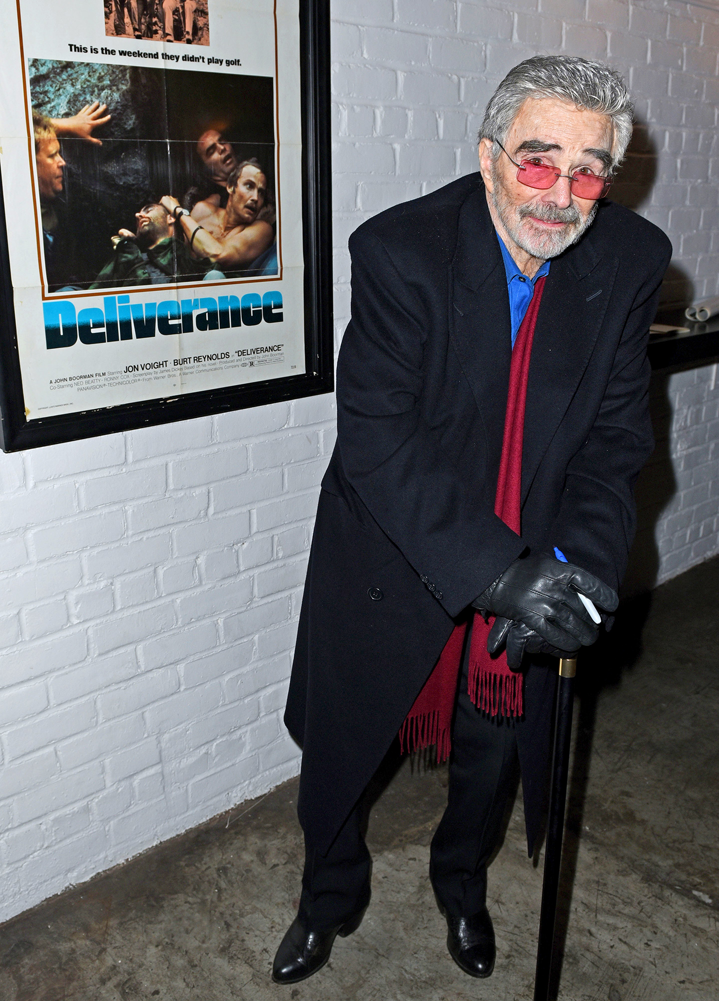 Burt Reynolds appears at the Metrograph, NYC