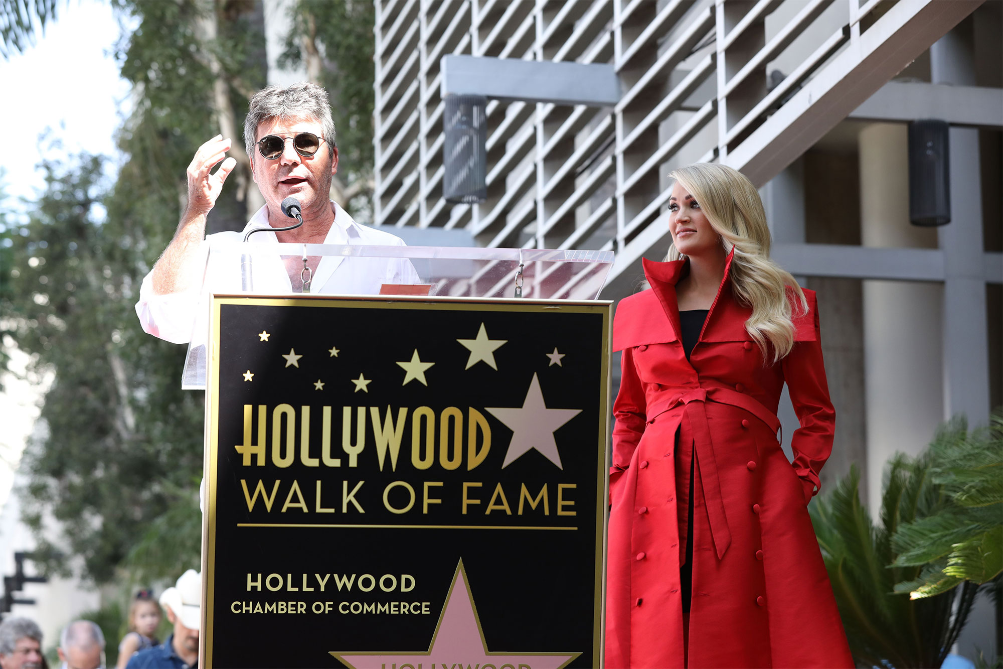 Carrie Underwood honored with Star on the Hollywood Walk of Fame, Los Angeles, USA - 20 Sep 2018