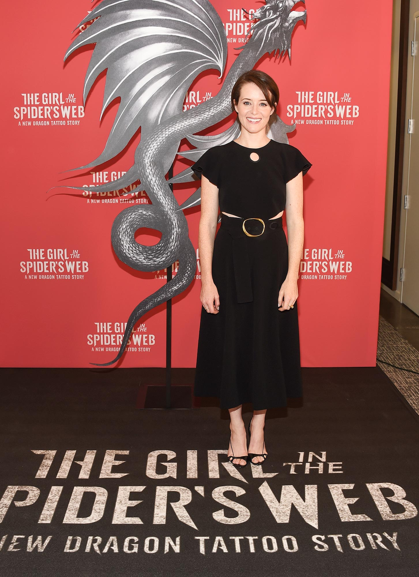 """""""Girl In The Spider's Web"""" Photo Call"""