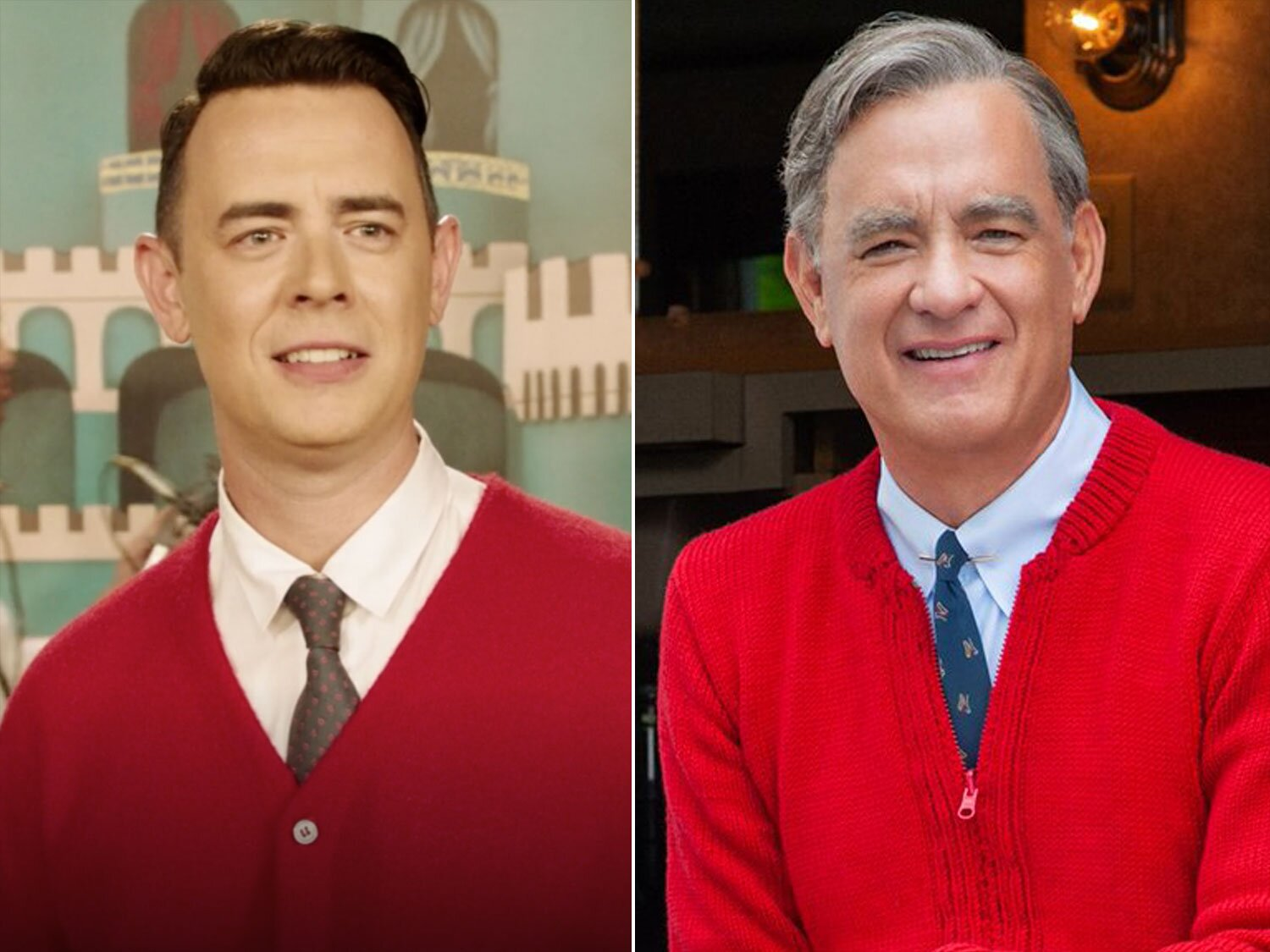 Did You Know Colin Hanks Played Mr Rogers Before His Dad Tom Did People Com