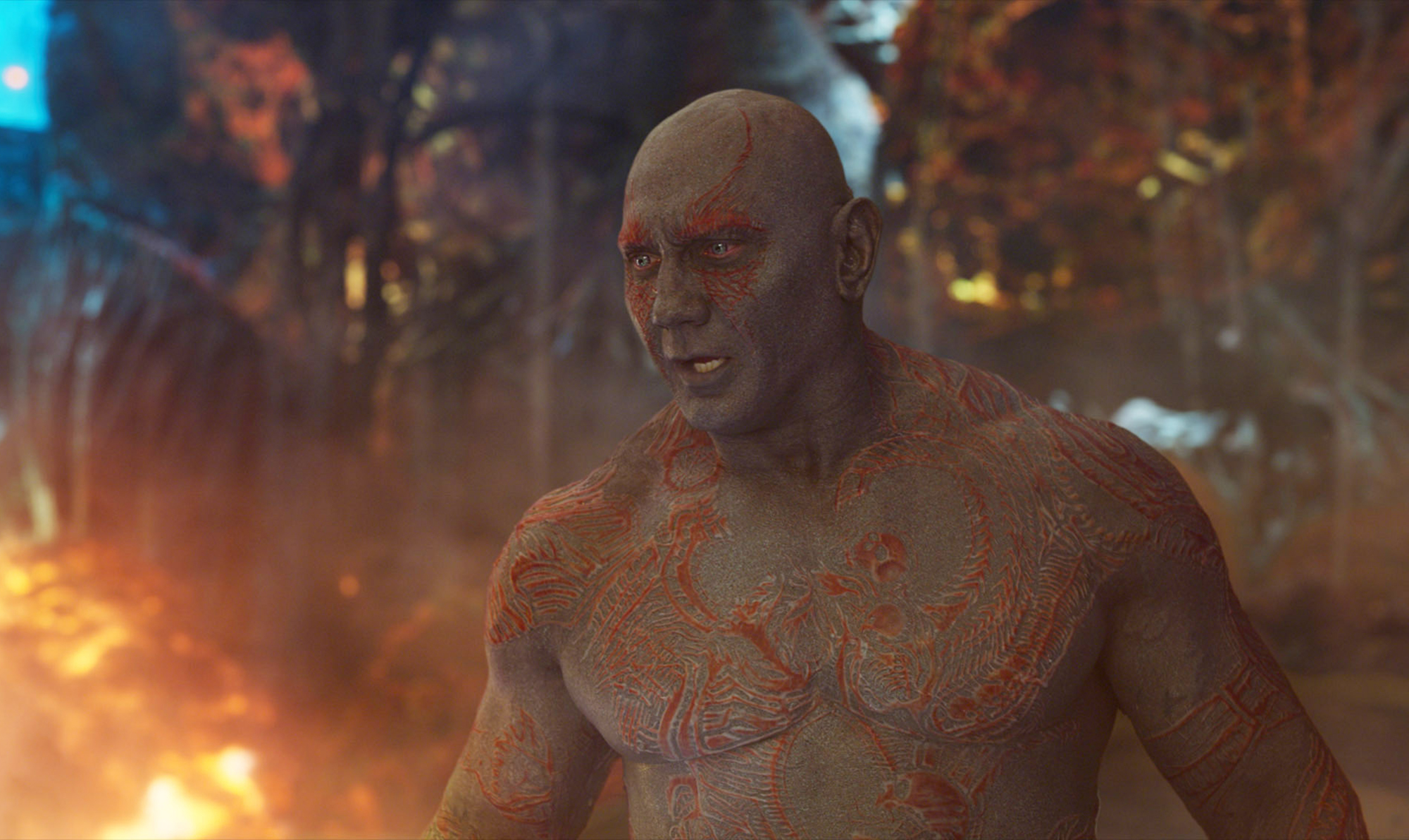 GUARDIANS OF THE GALAXY VOL. 2, Dave Bautista, 2017. ©Walt Disney Studios Motion Pictures/courtesy