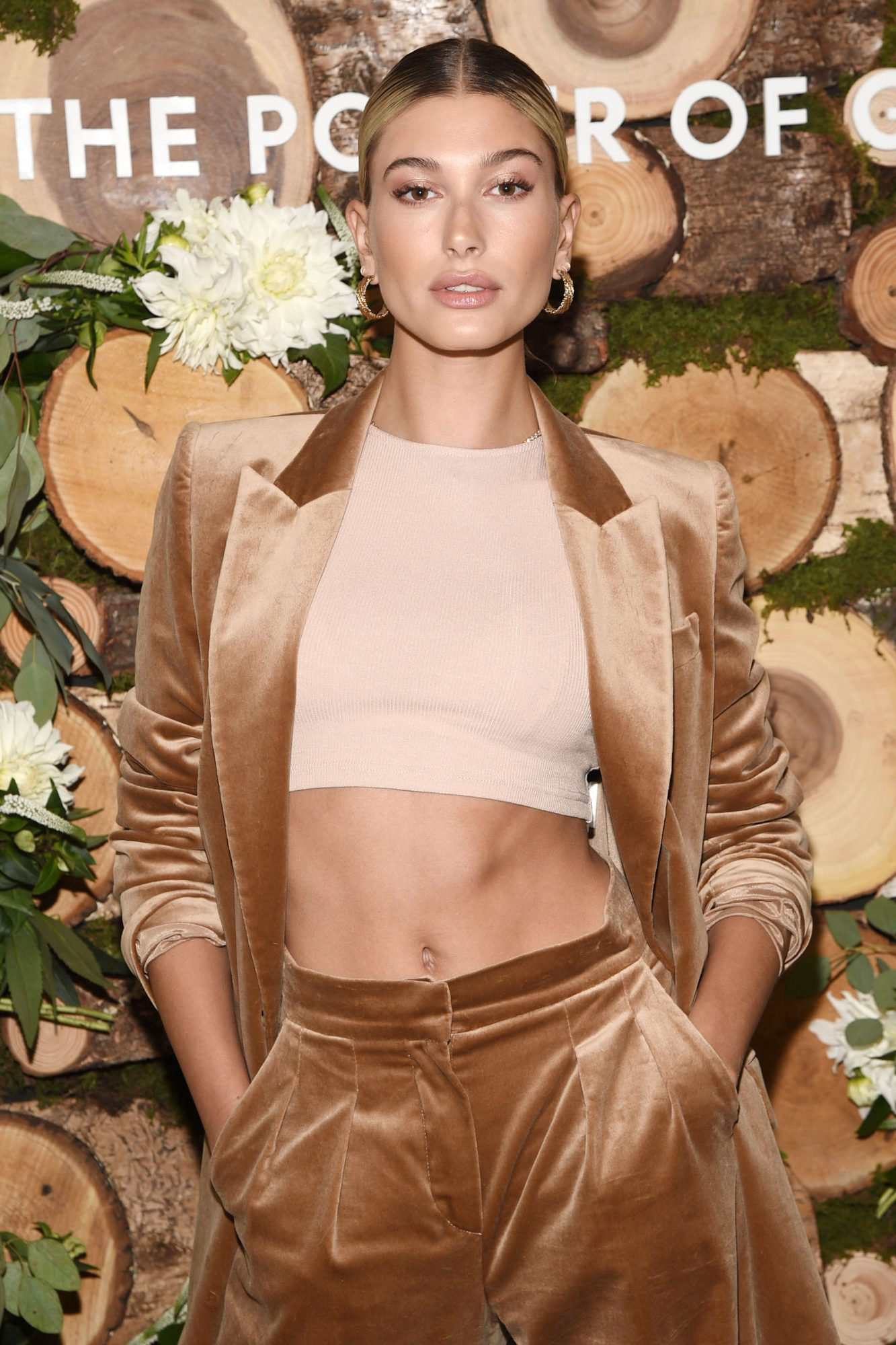 Hailey Baldwin Celebrates her new role as bareMinerals Clean Beauty Ambassador