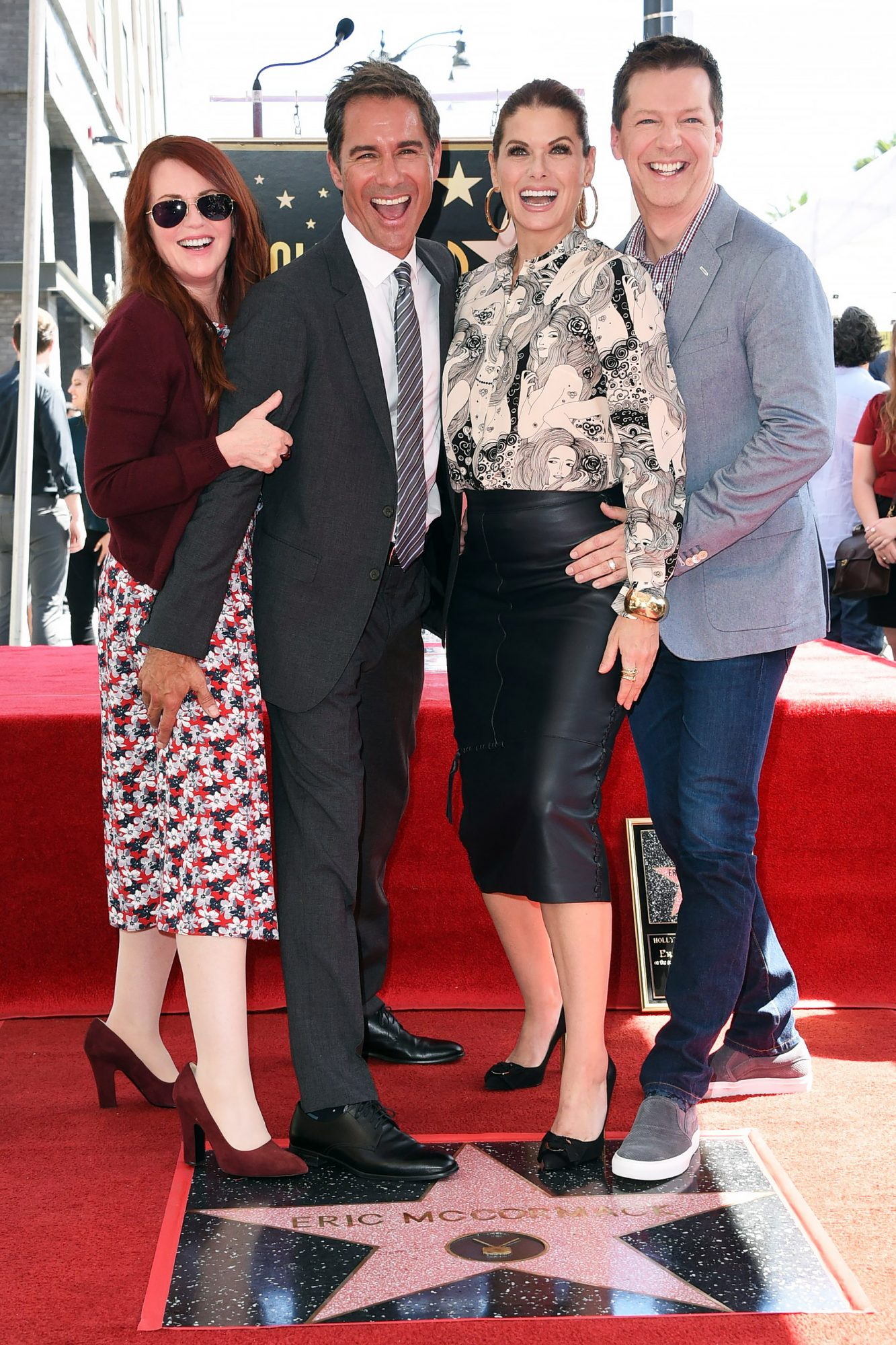 Eric McCormack Honored with a Star on the Hollywood Walk of Fame, Los Angeles, USA - 13 Sep 2018