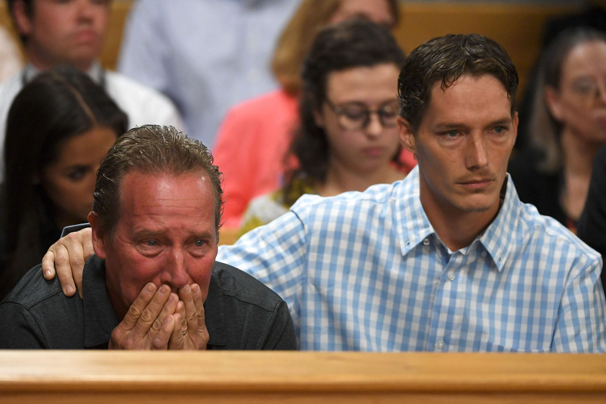 Aug. 21: Shan'ann's Grieving Family Appears in Court