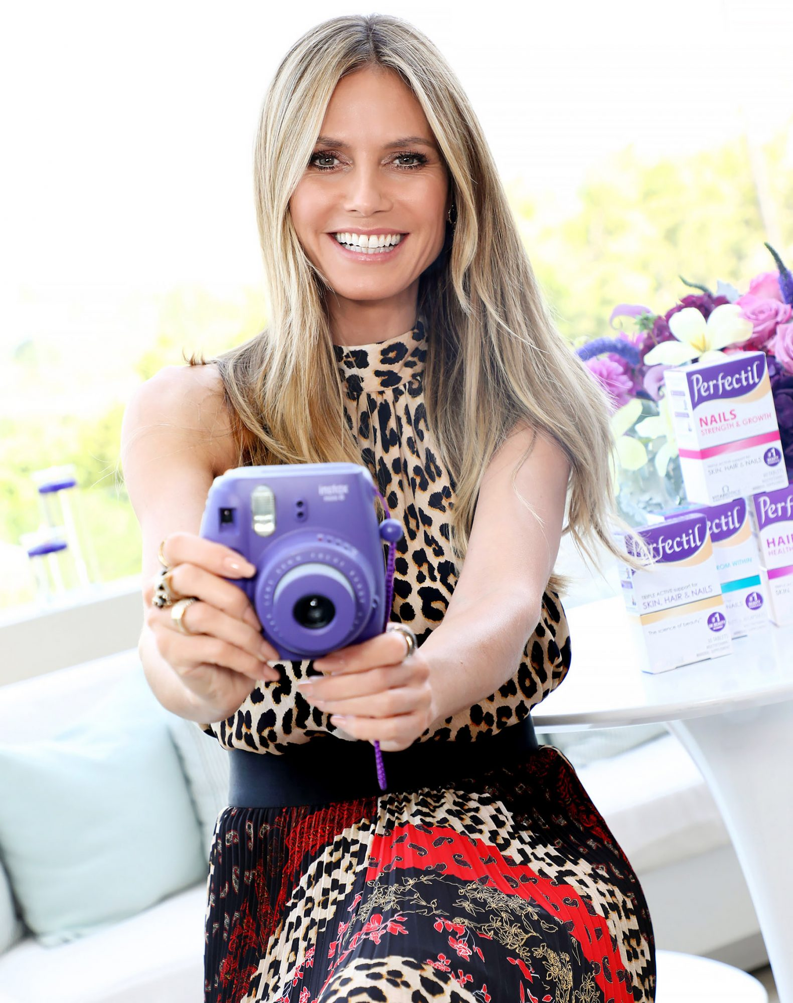 Perfectil's US Ambassador Heidi Klum Hosts Launch Event
