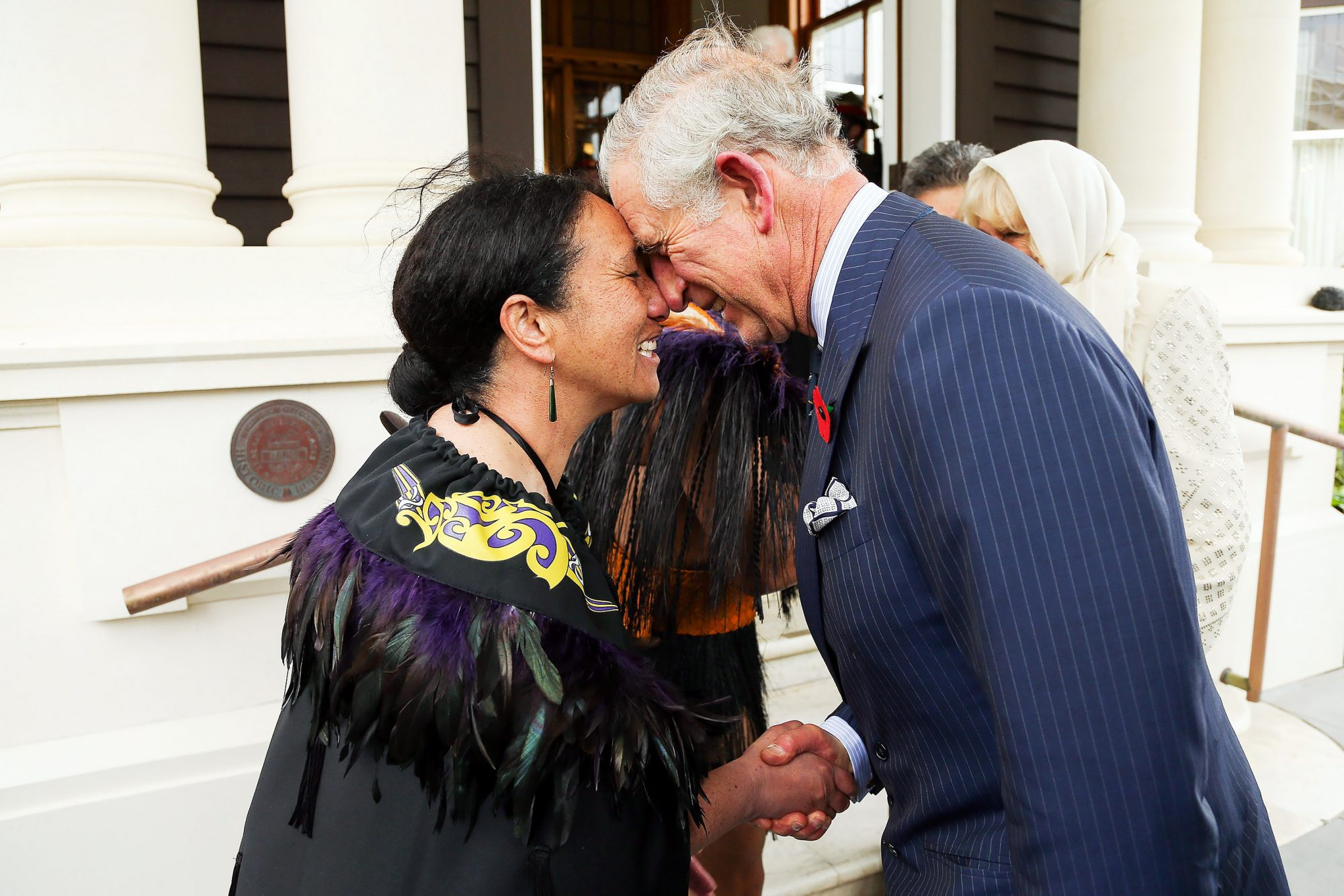 The Prince Of Wales & Duchess Of Cornwall Visit New Zealand - Day 1