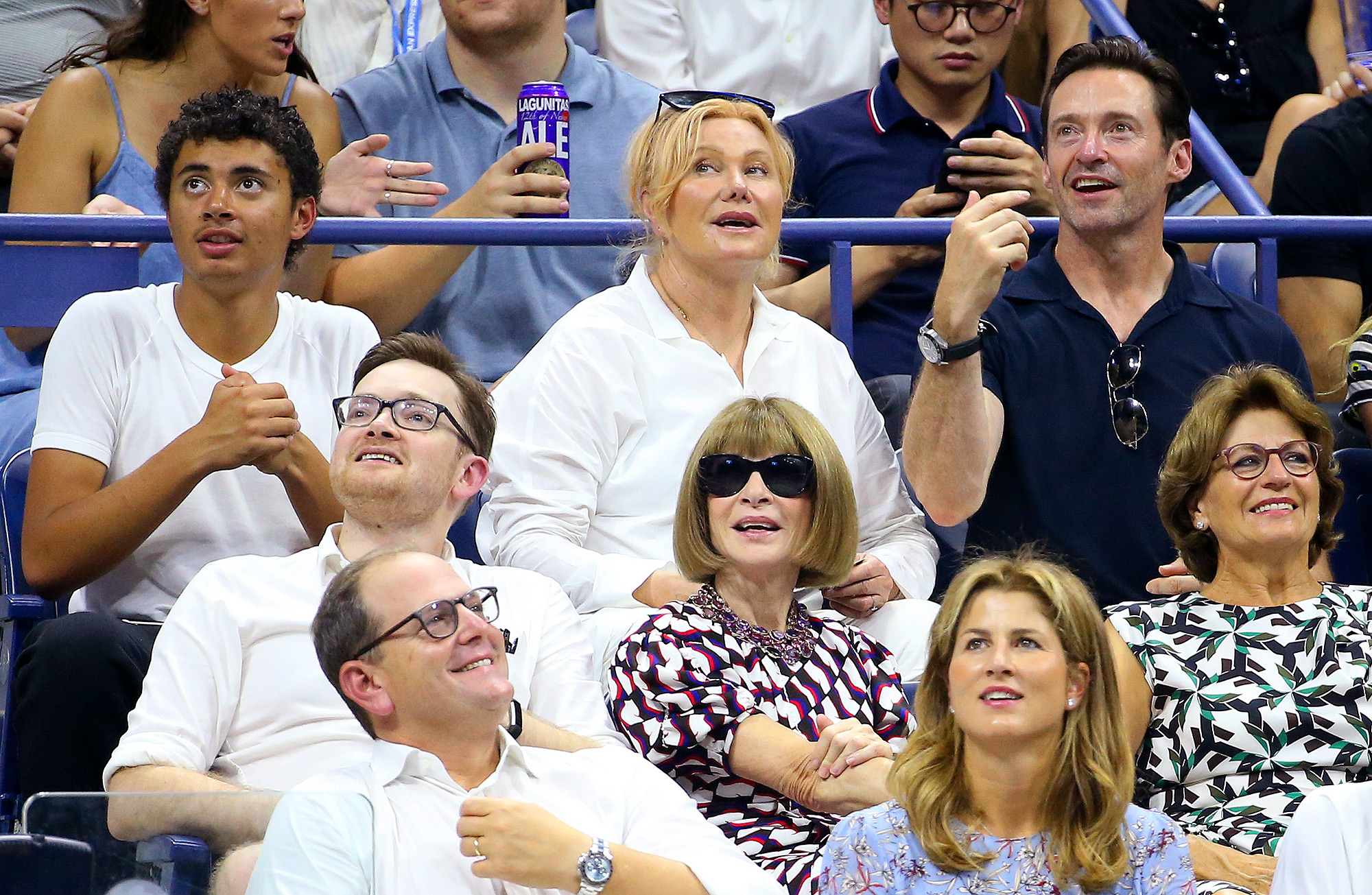 Celebrities Attend The 2018 US Open Tennis Championships - Day 2