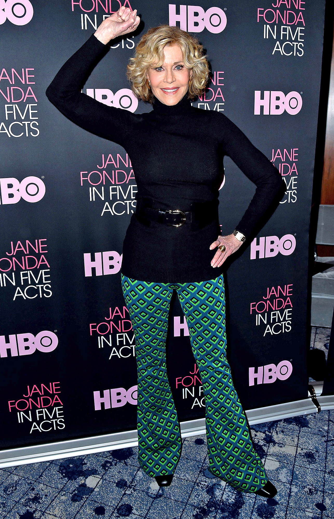 'Jane Fonda in Five Acts' film discussion, New York, USA - 20 Sep 2018