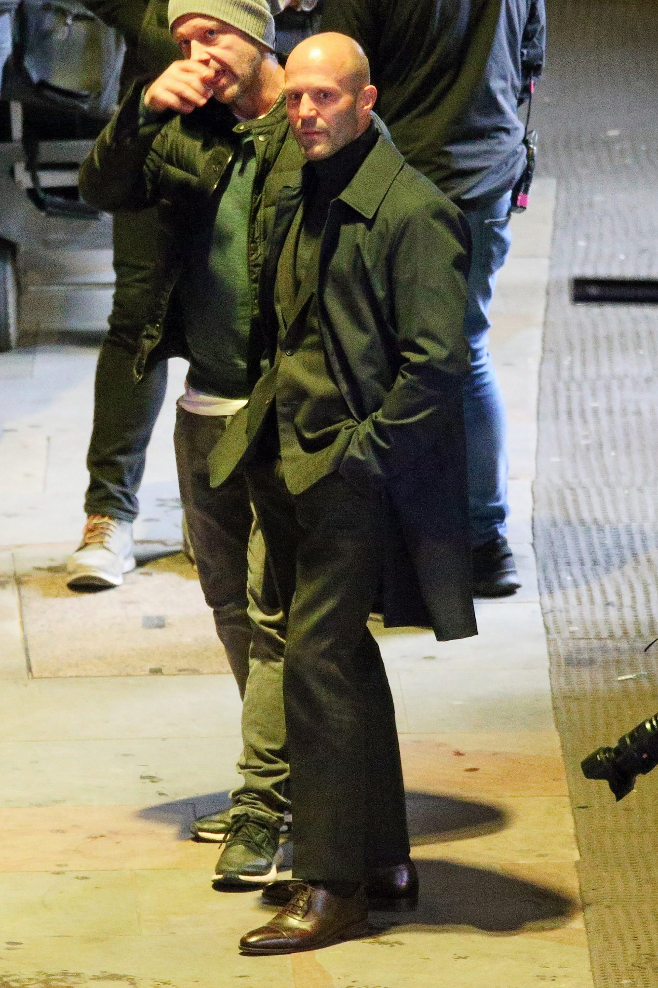 EXCLUSIVE: Jason Statham Films Hobs And Shaw In London