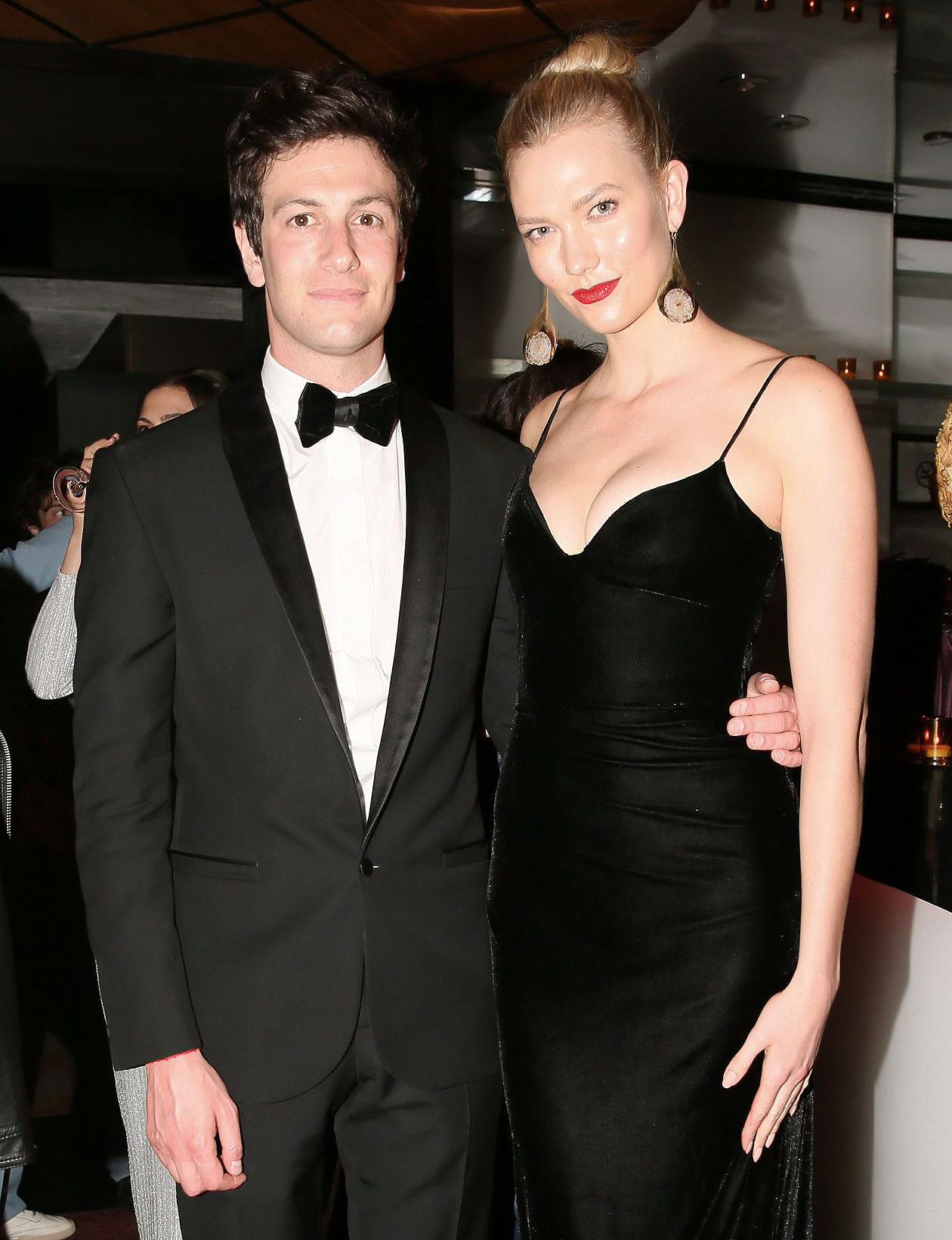 From left: Josh Kushner and Karlie Kloss in 2018