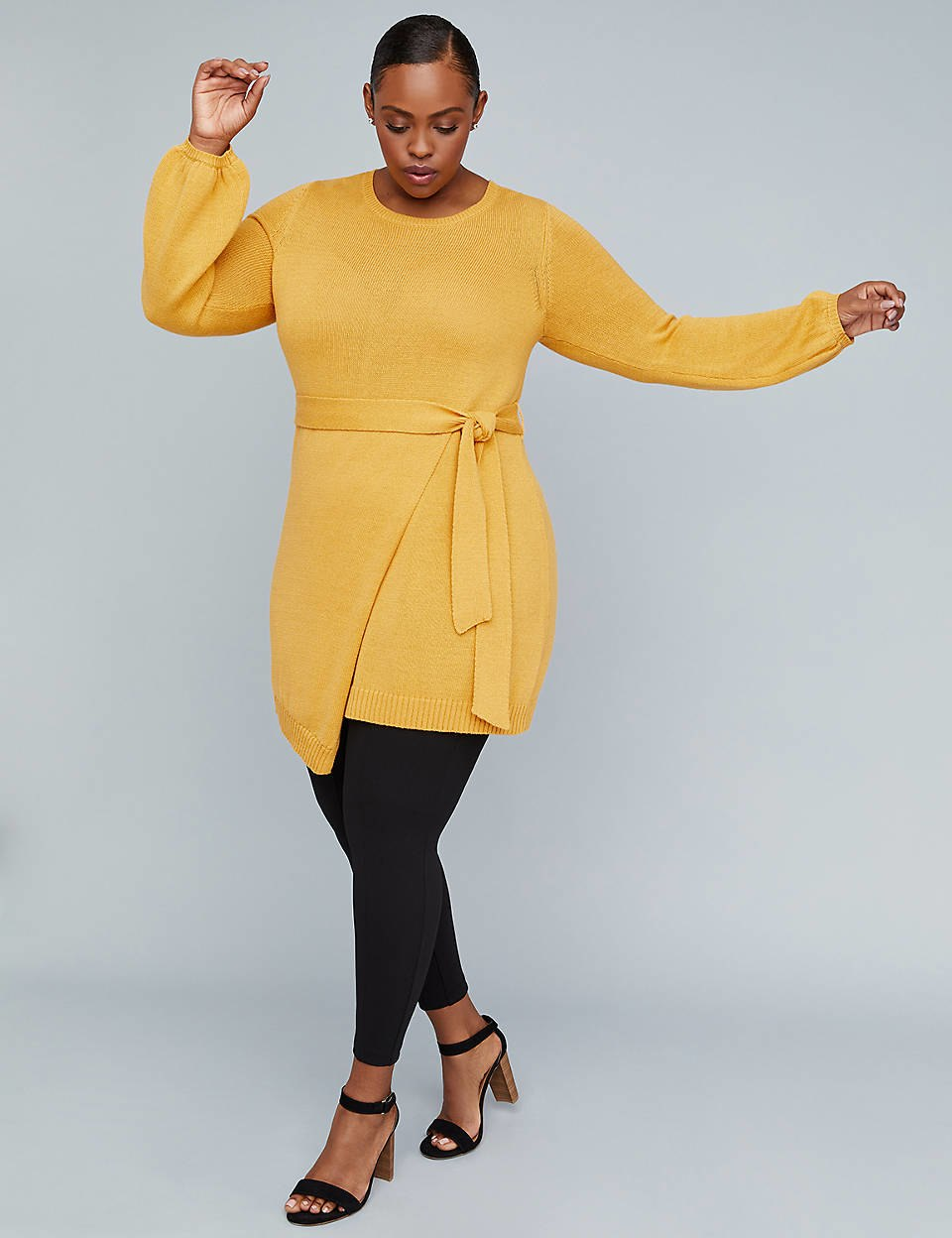 lane bryant girl with curves sweater