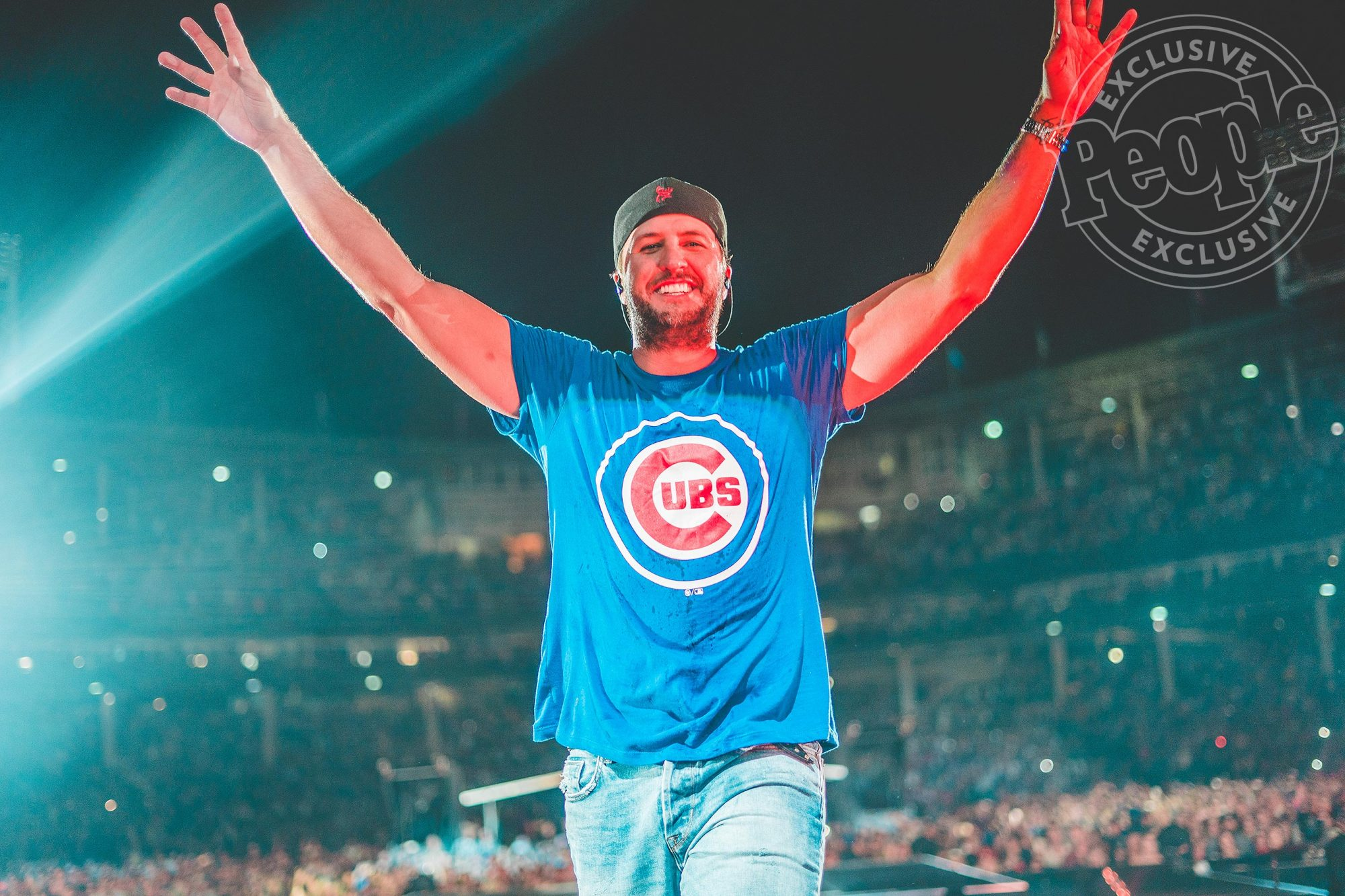 Luke BryanCredit: Ethan Helms